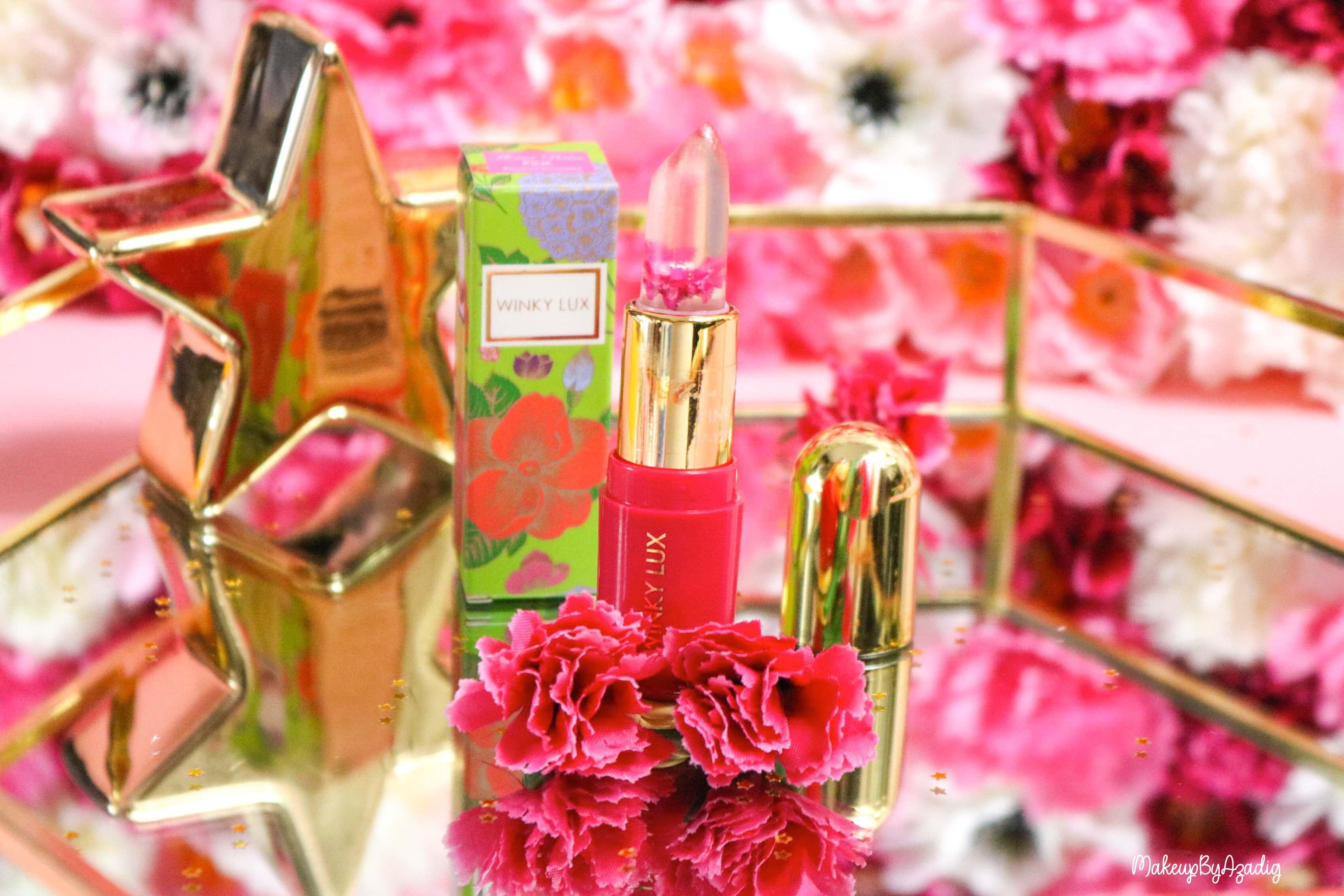 revue-flower-balm-baume-levres-winky-lux-sephora-rose-avis-prix-makeupbyazadig-gold