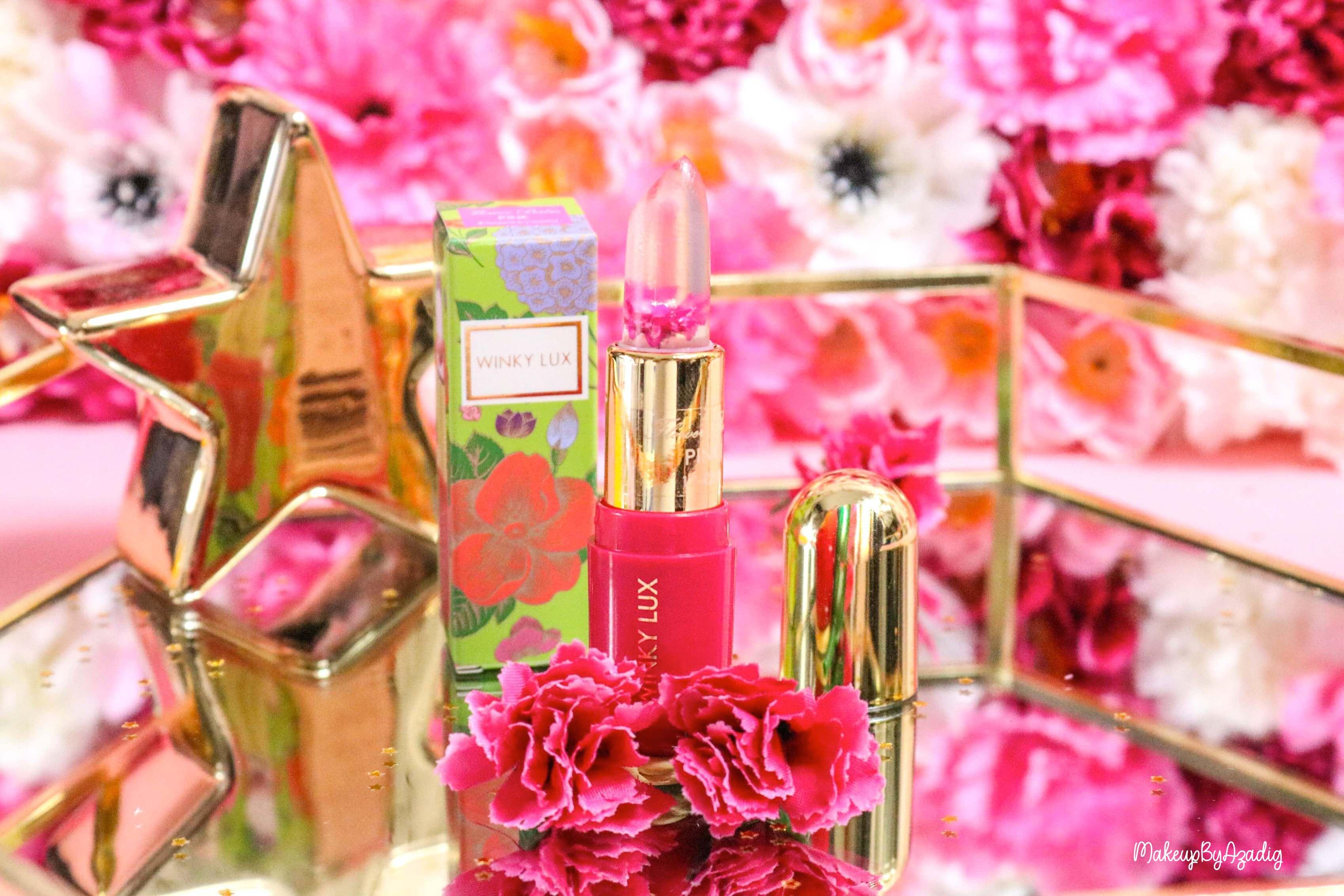 revue-flower-balm-baume-levres-winky-lux-sephora-rose-avis-prix-makeupbyazadig-miniature