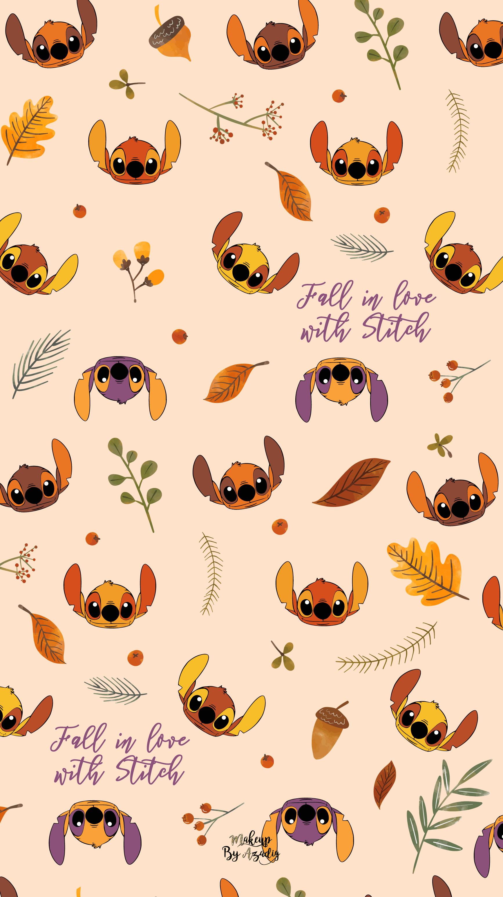 fond-decran-stitch-autumn-automne-fallinlove-disney-samsung-iphone-6-7-8-makeupbyazadig-tendance