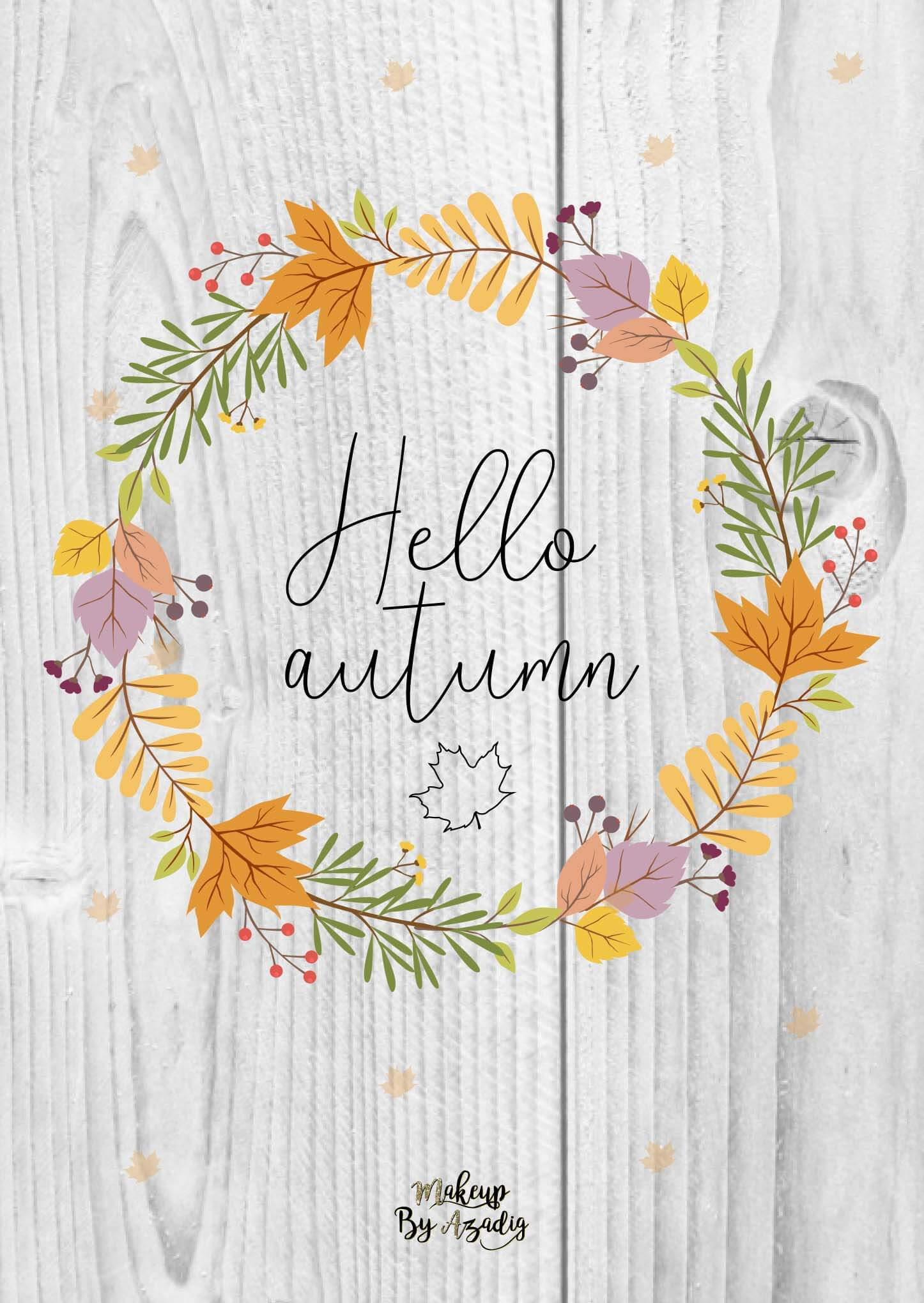 fond-decran-wallpaper-hello-couronne-automne-ipad-tablette-apple-makeupbyazadig-tendance