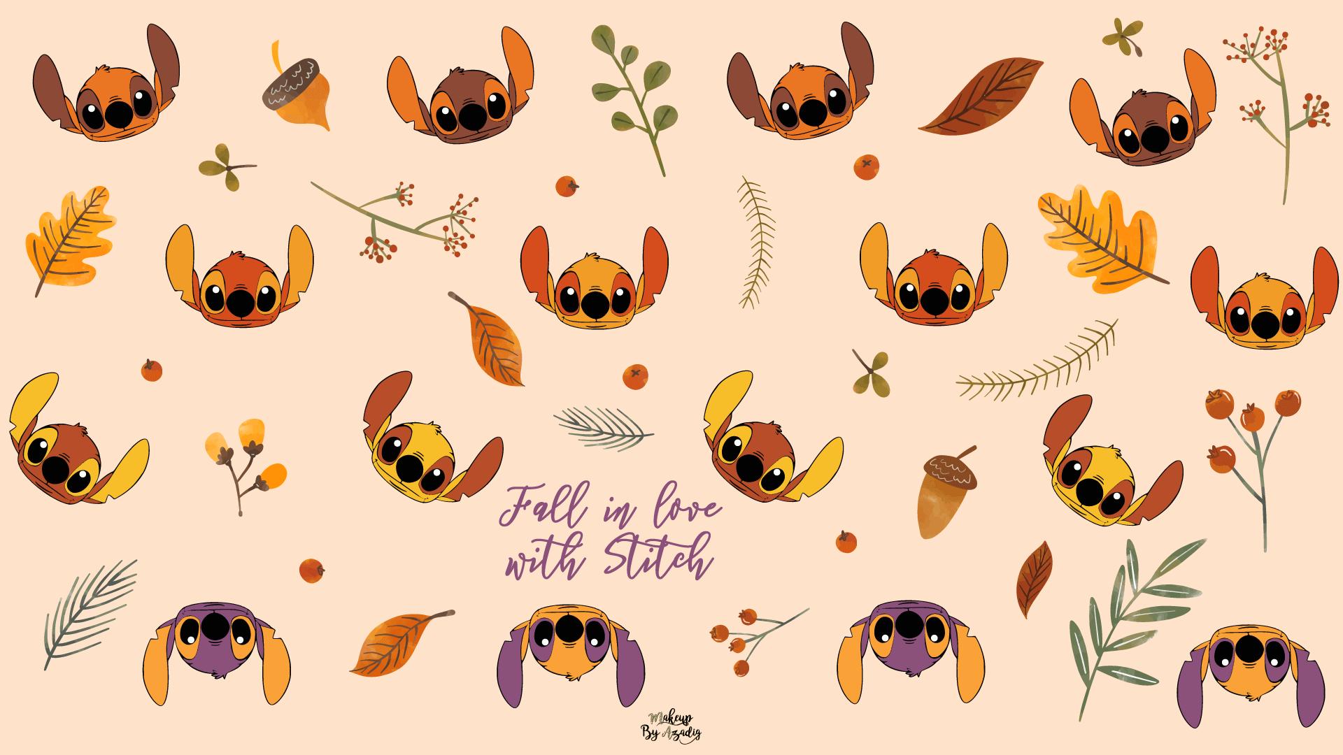fond-decran-wallpaper-stitch-autumn-automne-fallinlove-disney-ordinateur-mac-macbook-imac-pc-makeupbyazadig-tendance