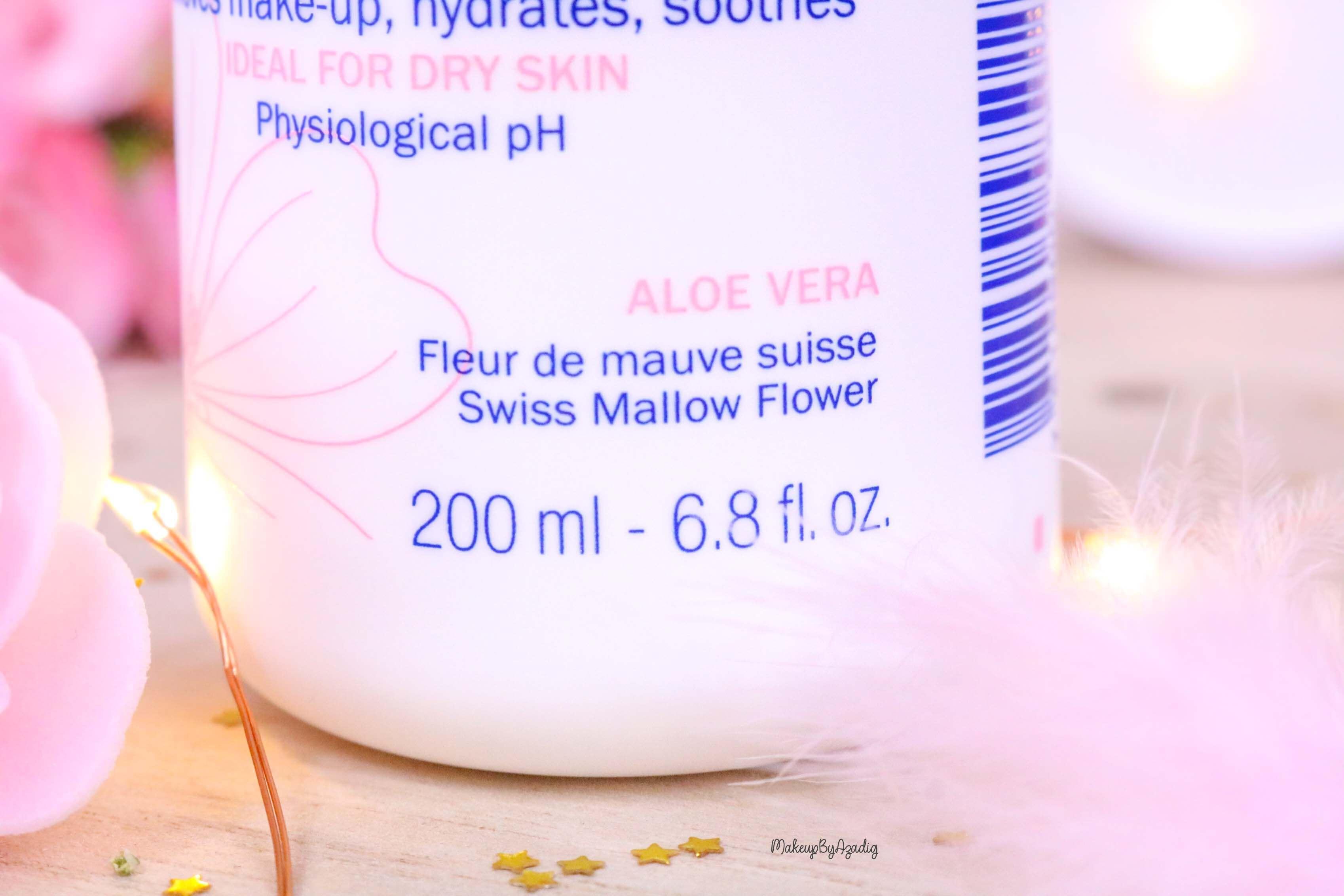 revue-routine-demaquillage-soin-confort-mavala-suisse-clean-lotion-tonique-lait-eau-micellaire-makeupbyazadig-aloe-vera
