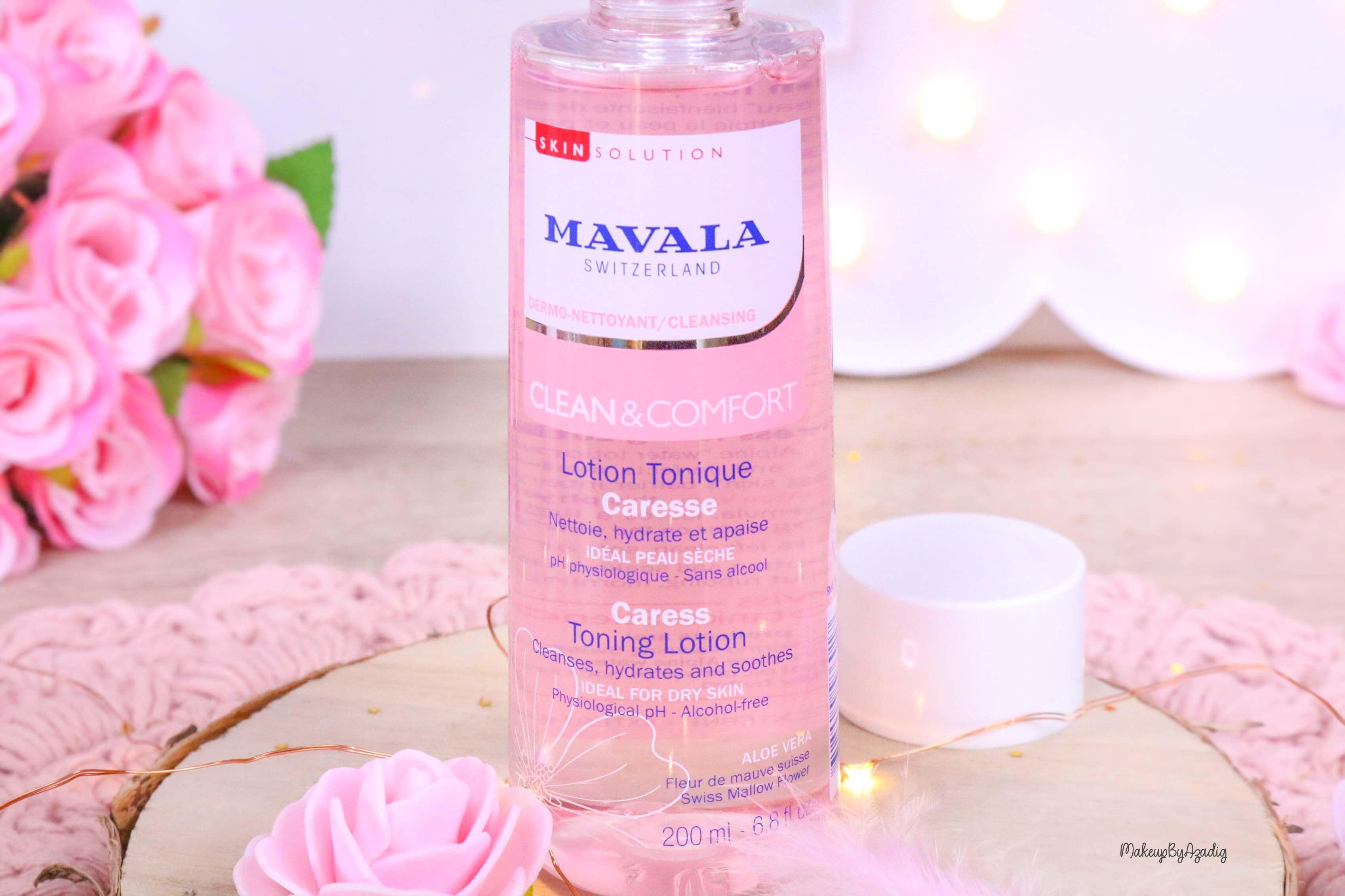 revue-routine-demaquillage-soin-confort-mavala-suisse-clean-lotion-tonique-lait-eau-micellaire-makeupbyazadig-apaise