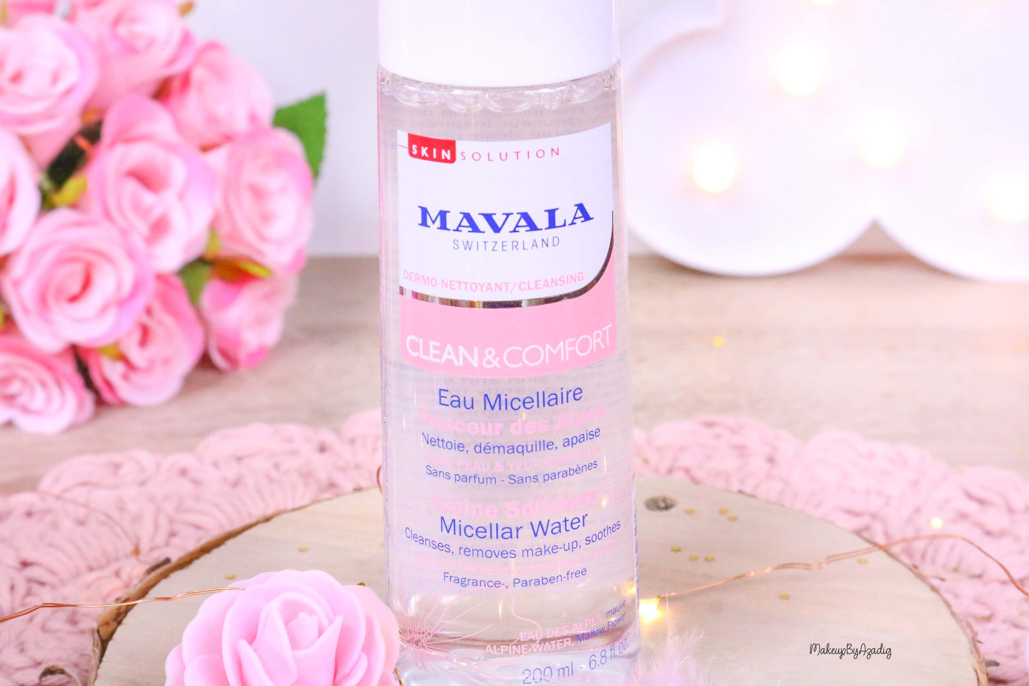 revue-routine-demaquillage-soin-confort-mavala-suisse-clean-lotion-tonique-lait-eau-micellaire-makeupbyazadig-micellar