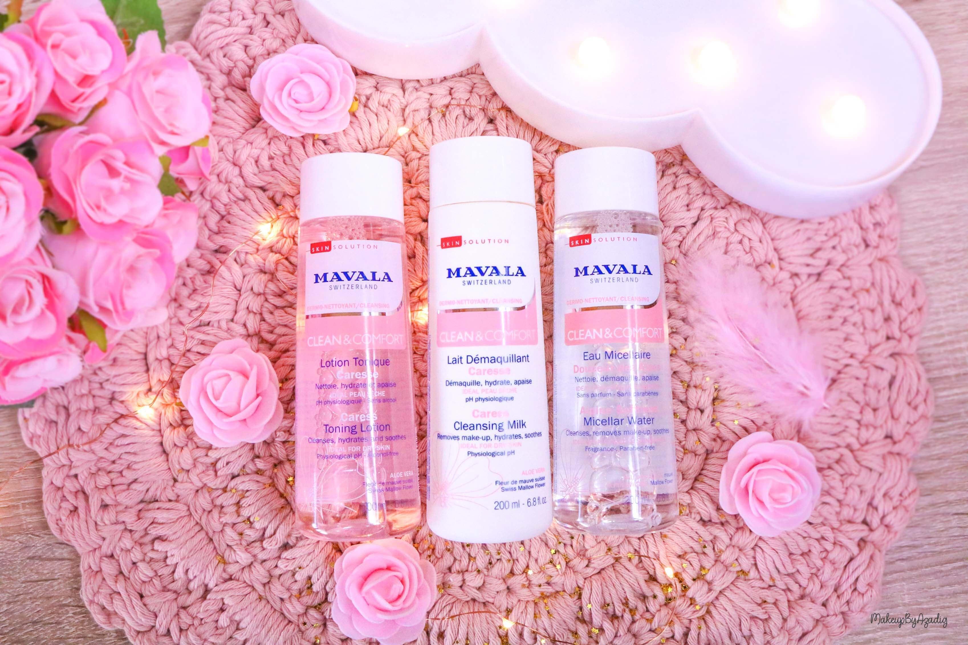 revue-routine-demaquillage-soin-confort-mavala-suisse-clean-lotion-tonique-lait-eau-micellaire-makeupbyazadig-soin