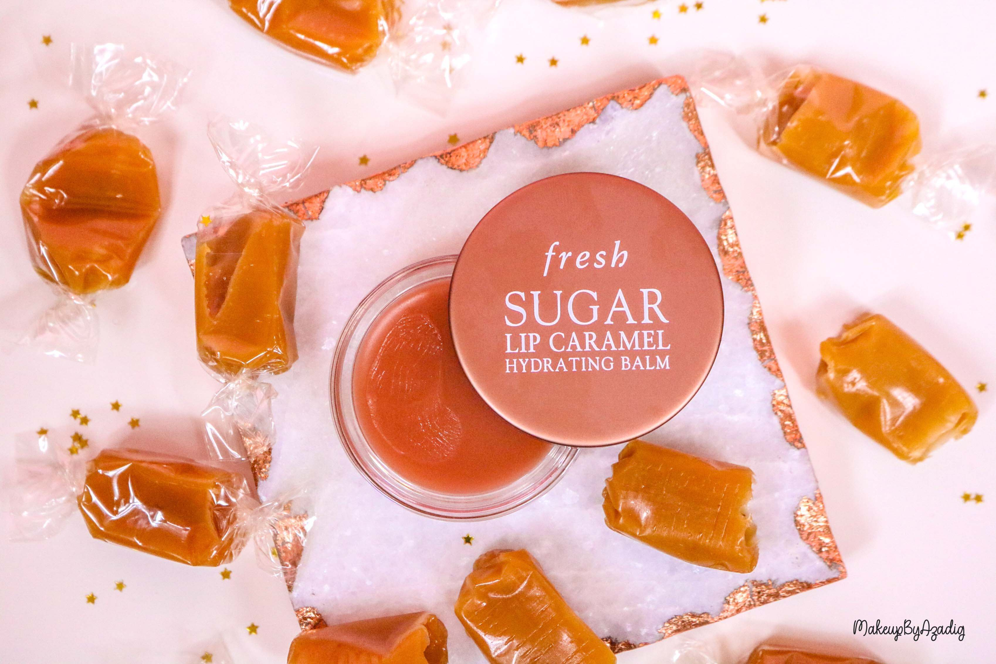 revue-baume-sucre-fresh-beauty-skincare-caramel-sugar-lip-caramel-sephora-makeupbyazadig-avis-prix-balm-chocolat
