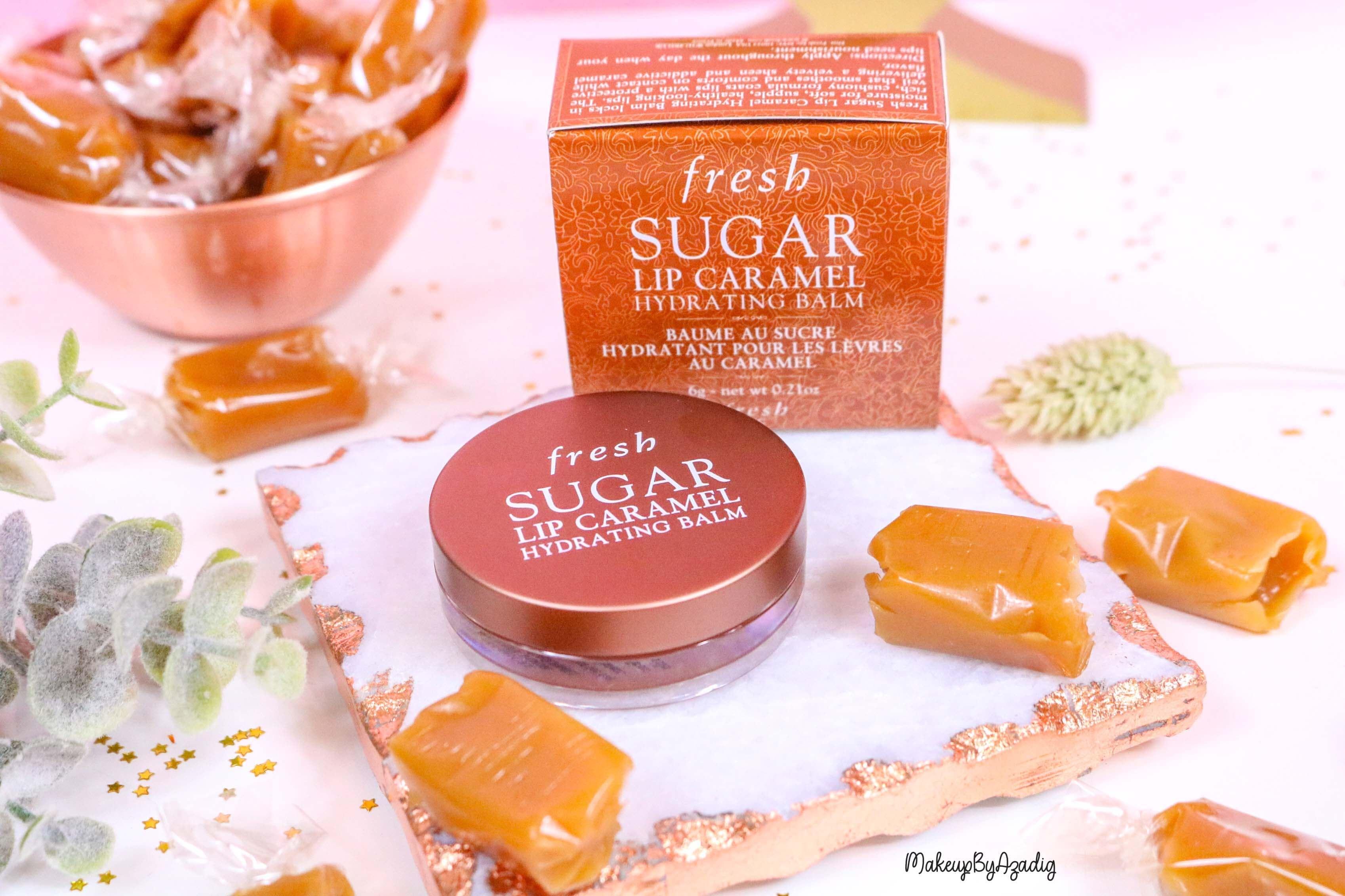 revue-baume-sucre-fresh-beauty-skincare-caramel-sugar-lip-caramel-sephora-makeupbyazadig-avis-prix-balm-hydratant