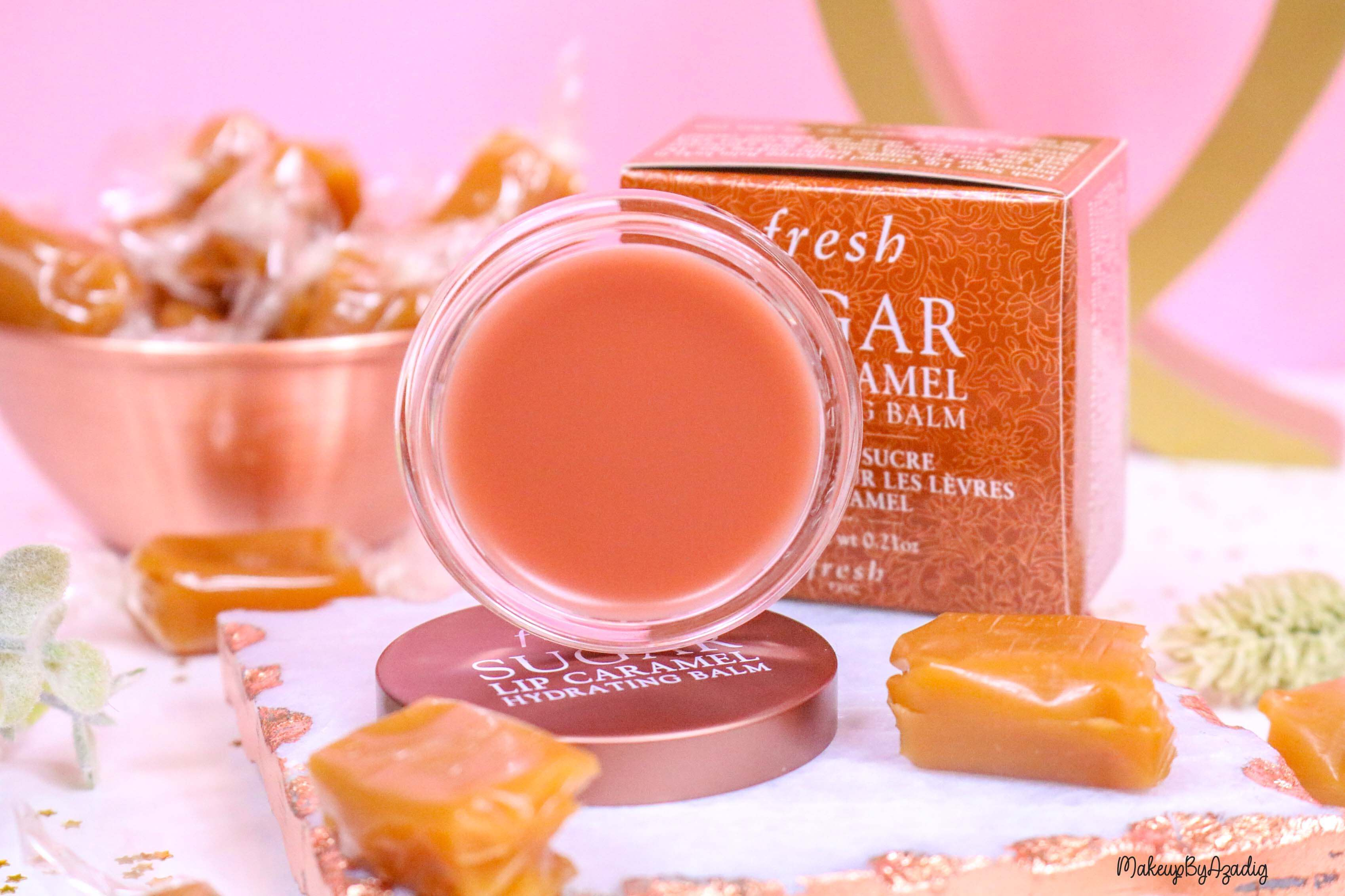 revue-baume-sucre-fresh-beauty-skincare-caramel-sugar-lip-caramel-sephora-makeupbyazadig-avis-prix-balm-texture