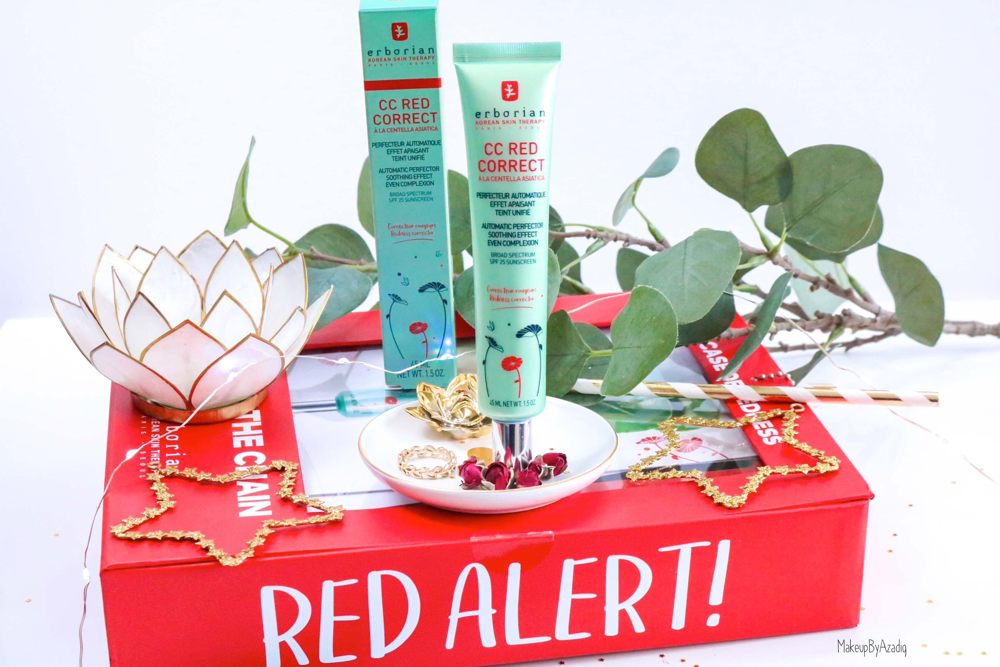 revue-nouveaute-erborian-cc-red-correct-correcteur-rougeurs-avis-prix-makeupbyazadig-partenariat