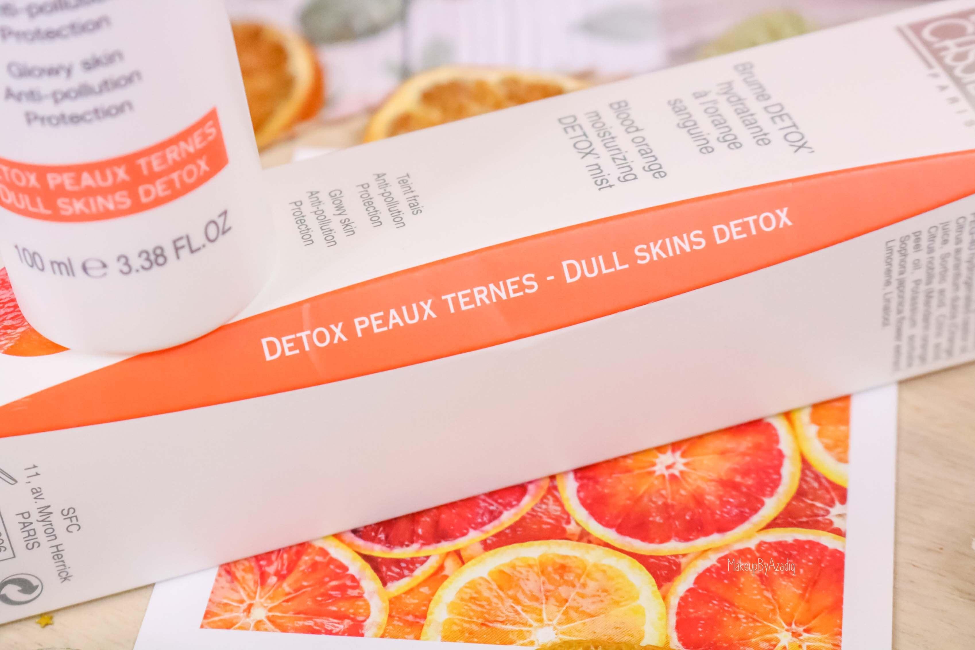 revue-produits-bernard-cassiere-bio-detox-orange-sanguine-masque-paris-institut-concentre-nuit-avis-prix-soin-makeupbyazadig-mist