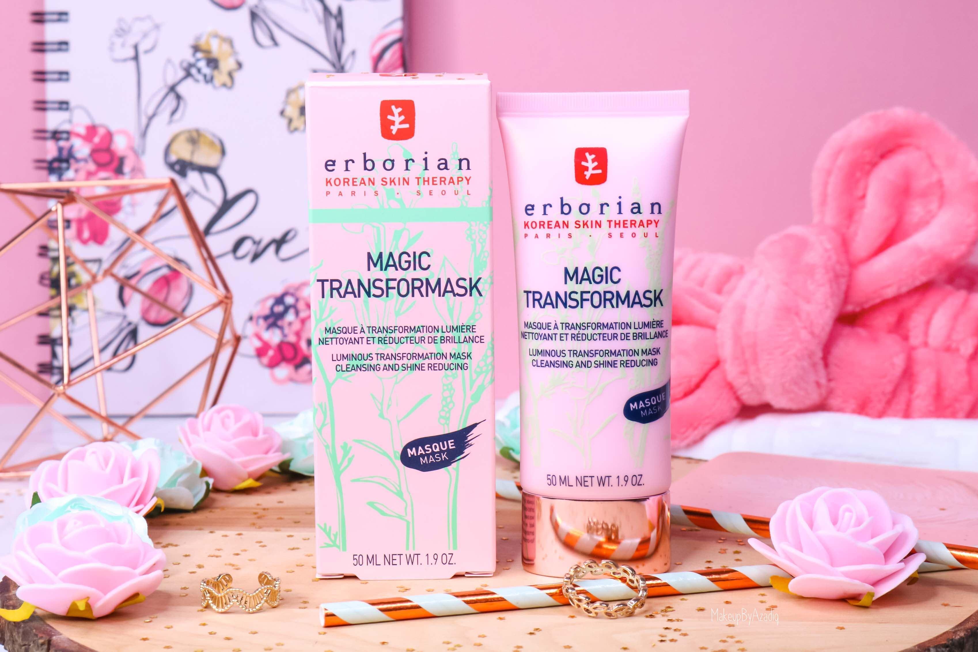 revue-magic-transformask-erborian-masque-visage-rose-sephora-avis-prix-makeupbyazadig-korean-partenariat
