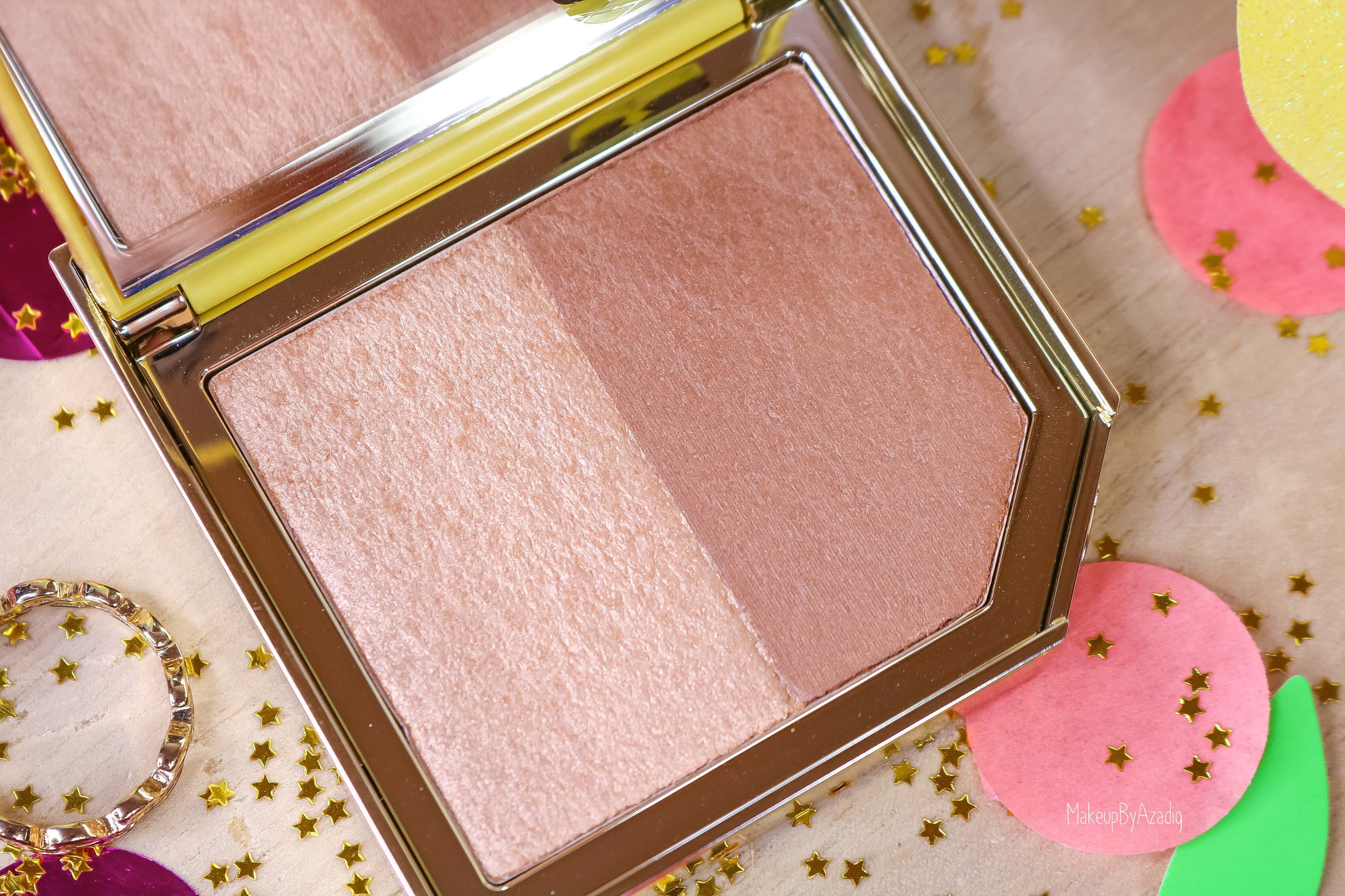 revue-collection-tutti-frutti-too-faced-bronzeur-highlighter-pineapple-paradise-sun-sephora-france-makeupbyazadig-swatch-avis-prix-ananas-gold