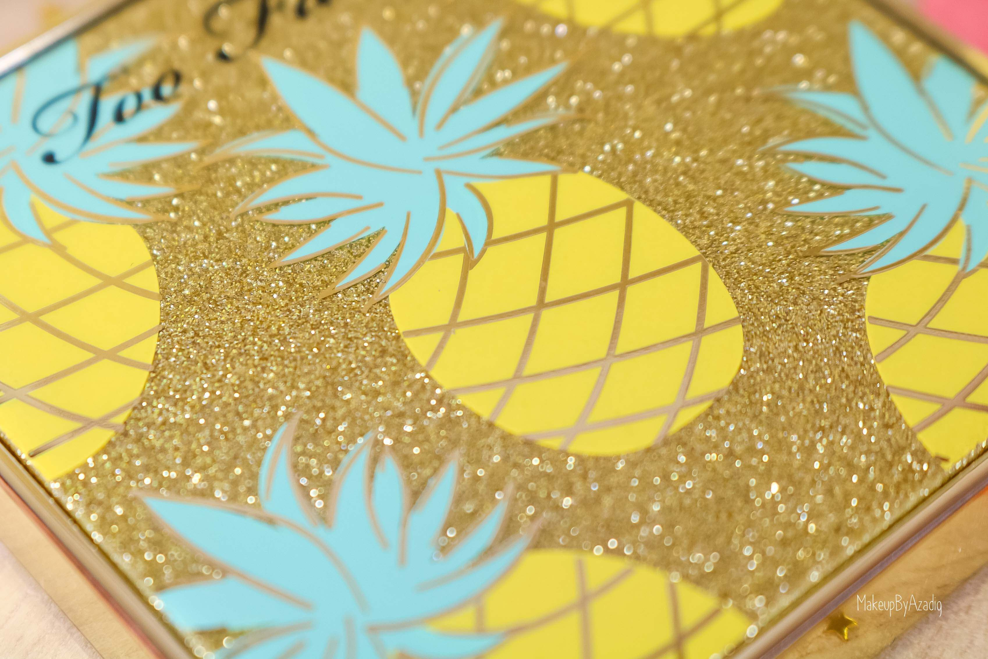 revue-collection-tutti-frutti-too-faced-bronzeur-highlighter-pineapple-paradise-sun-sephora-france-makeupbyazadig-swatch-avis-prix-ananas-zoom