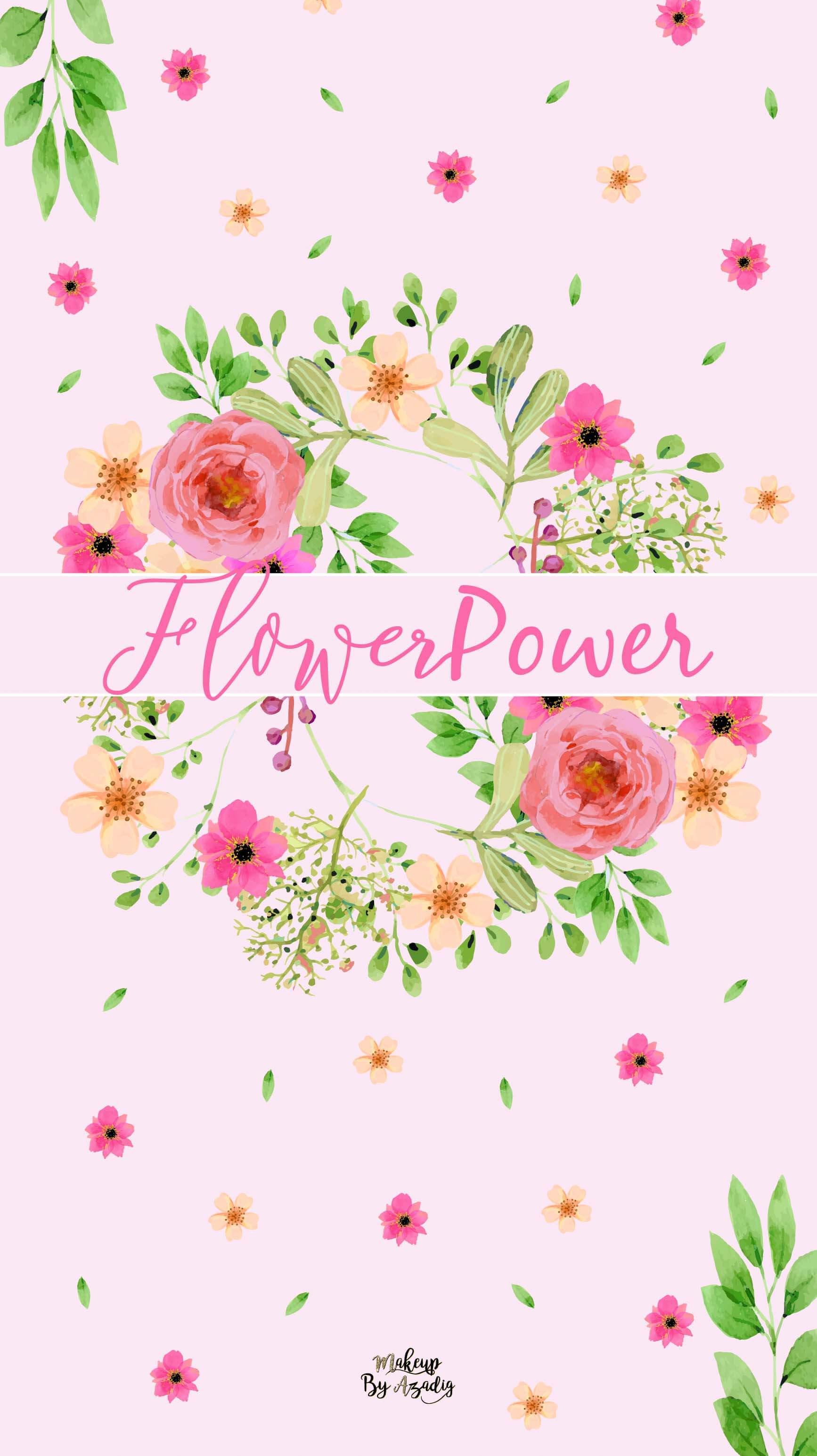 fond-decran-printemps-fleurs-flower-power-couronne-rose-girly-samsung-iphone-6-7-8-makeupbyazadig-tendance