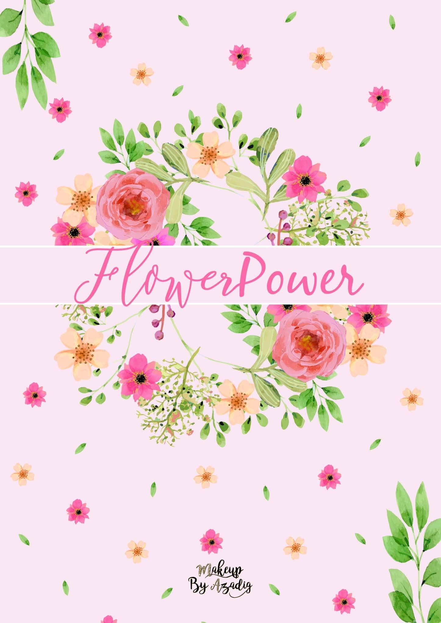 fond-decran-wallpaper-printemps-fleurs-flower-power-couronne-rose-girly-ipad-tablette-apple-makeupbyazadig-tendance
