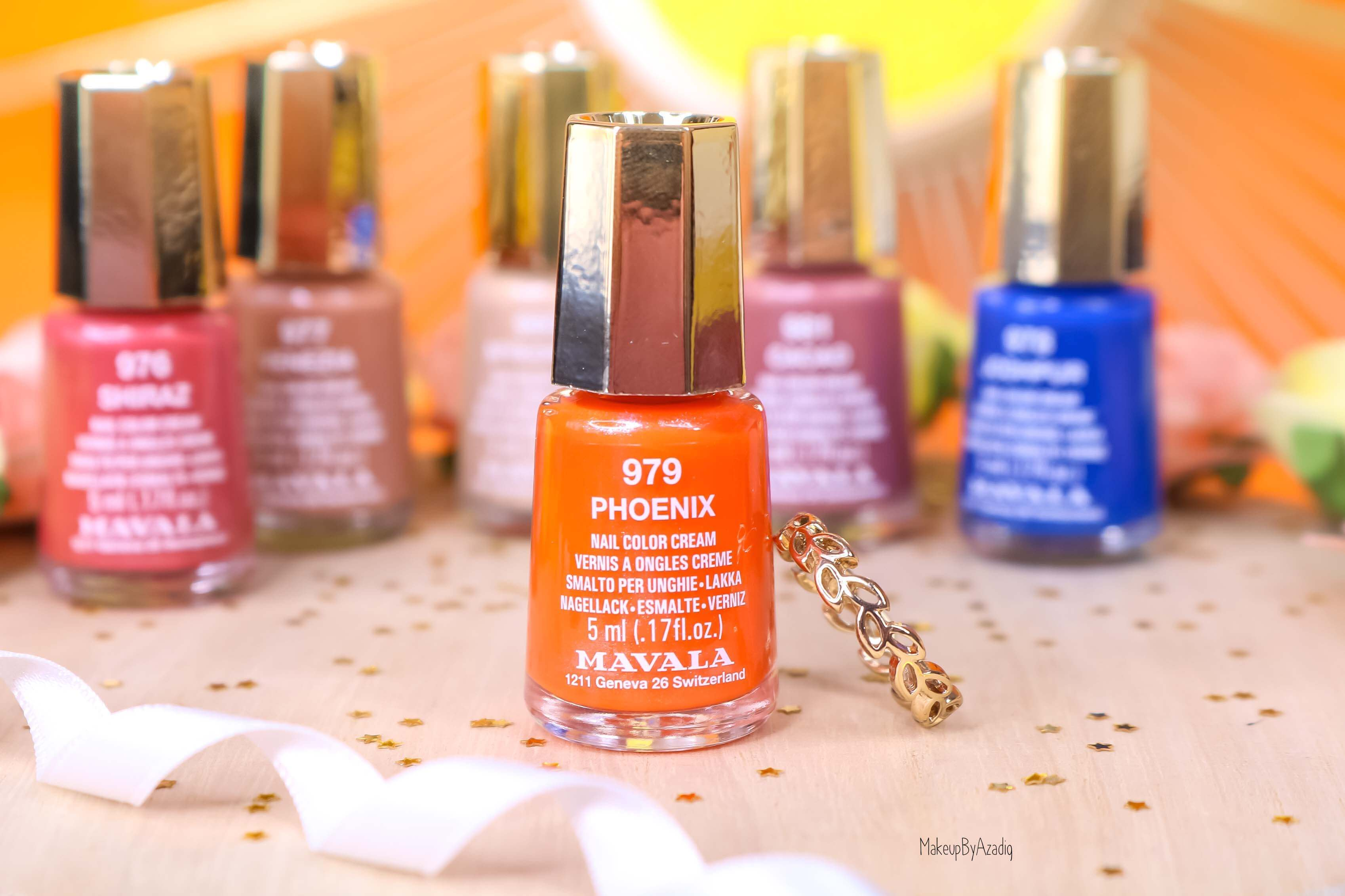 revue-collection-vernis-mavala-nails-solaris-printemps-bleu-orange-makeupbyazadig-swatch-avis-prix-phoenix