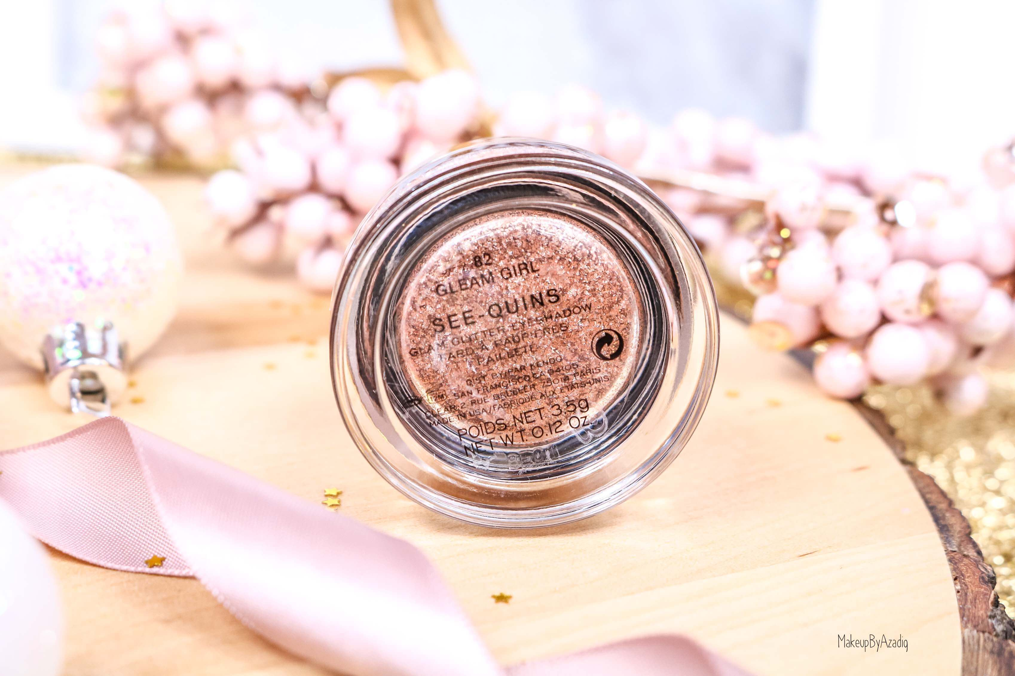revue-fard-paupieres-paillete-marc-jacobs-beauty-gleam-girl-makeupbyazadig-avis-prix-swatch-eyeshadow