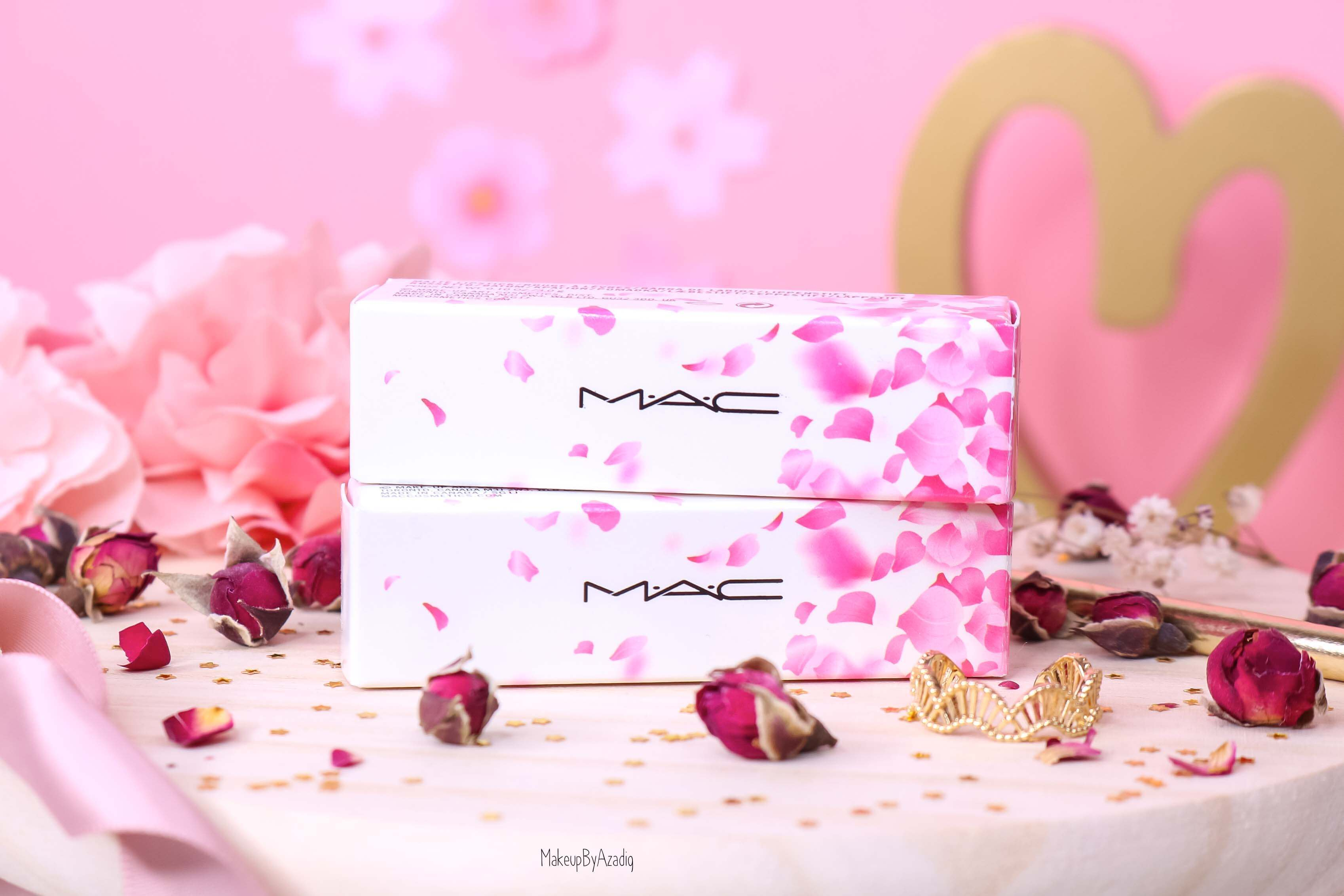 revue-rouge-a-levres-mac-cosmetics-collection-boom-boom-bloom-printemps-makeupbyazadig-avis-swatch-prix-france-packaging