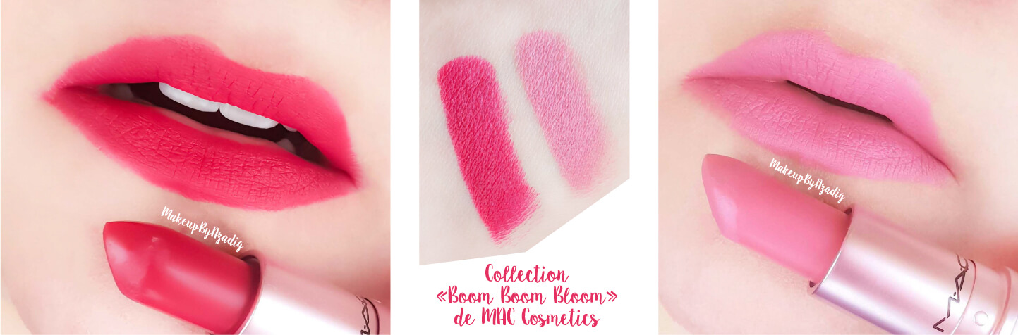 revue-rouge-a-levres-mac-cosmetics-collection-boom-boom-bloom-printemps-makeupbyazadig-avis-swatch-prix-france-swatches