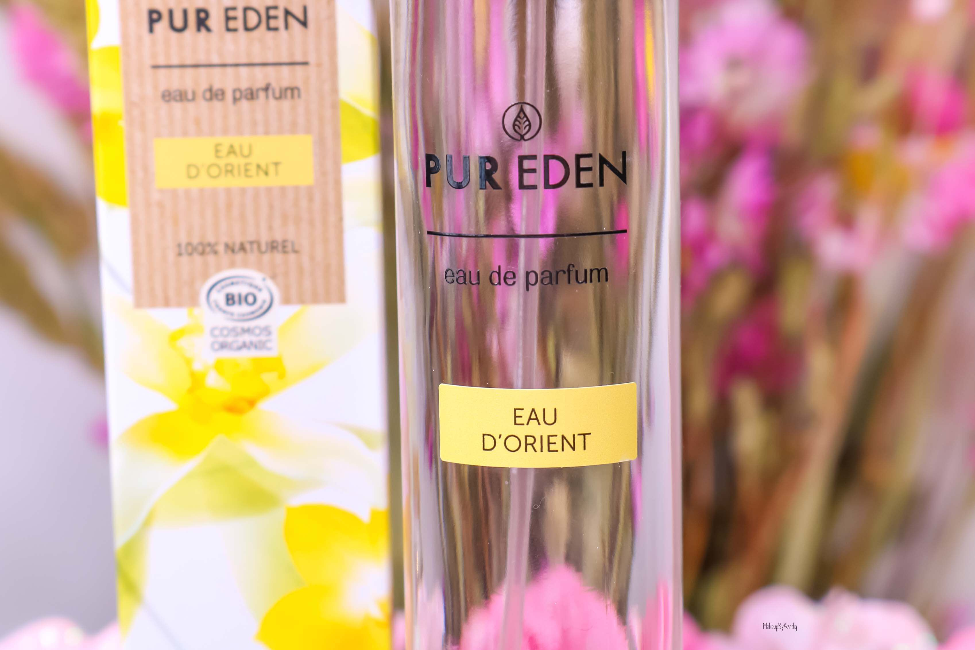 revue-eau-de-parfum-bio-vegan-pur-eden-fleur-boreale-extraits-hesperides-eau-dorient-makeupbyazadig-avis-prix-tenue-orient