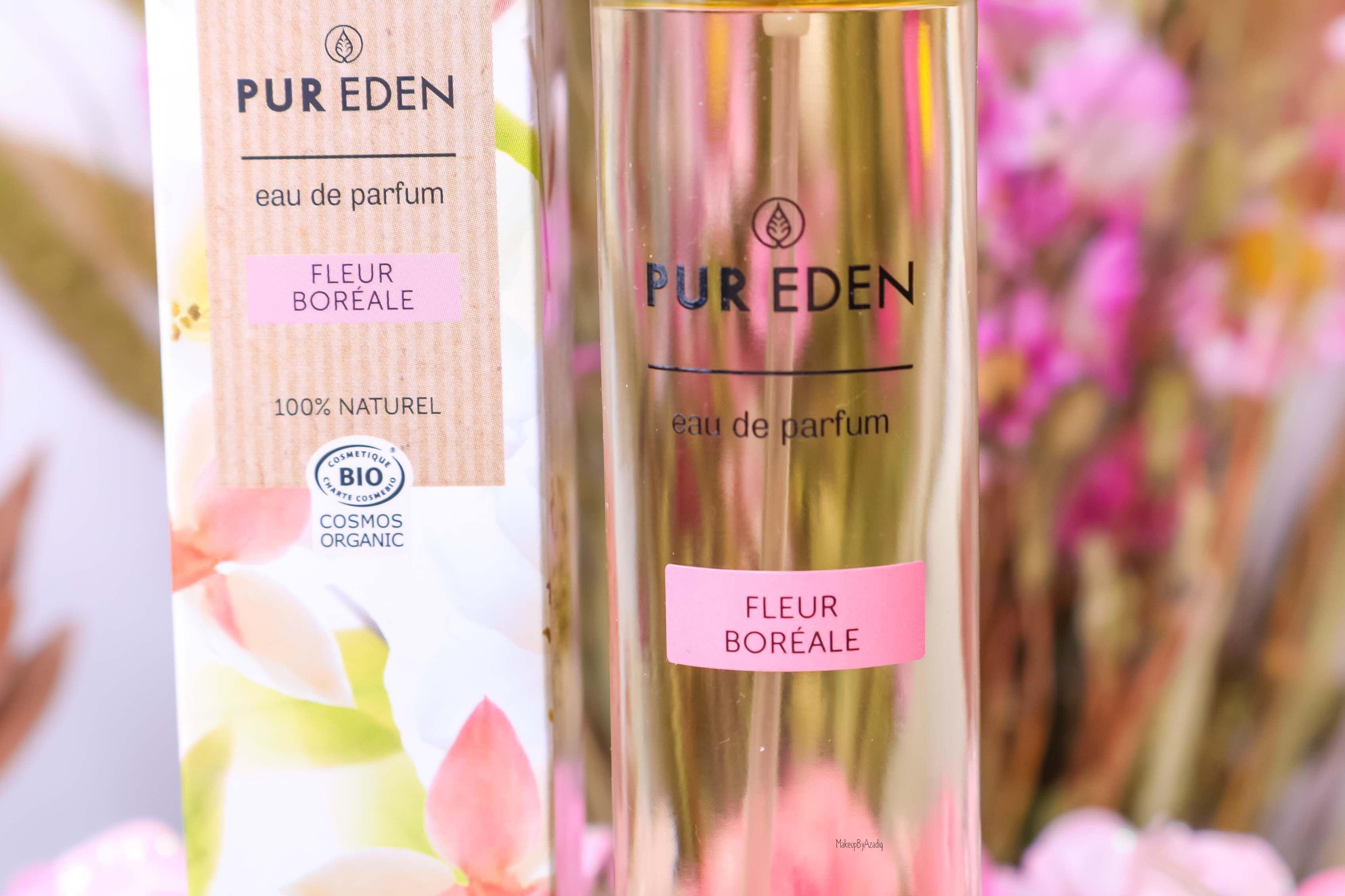 revue-eau-de-parfum-bio-vegan-pur-eden-fleur-boreale-extraits-hesperides-eau-dorient-makeupbyazadig-avis-prix-tenue-ylang