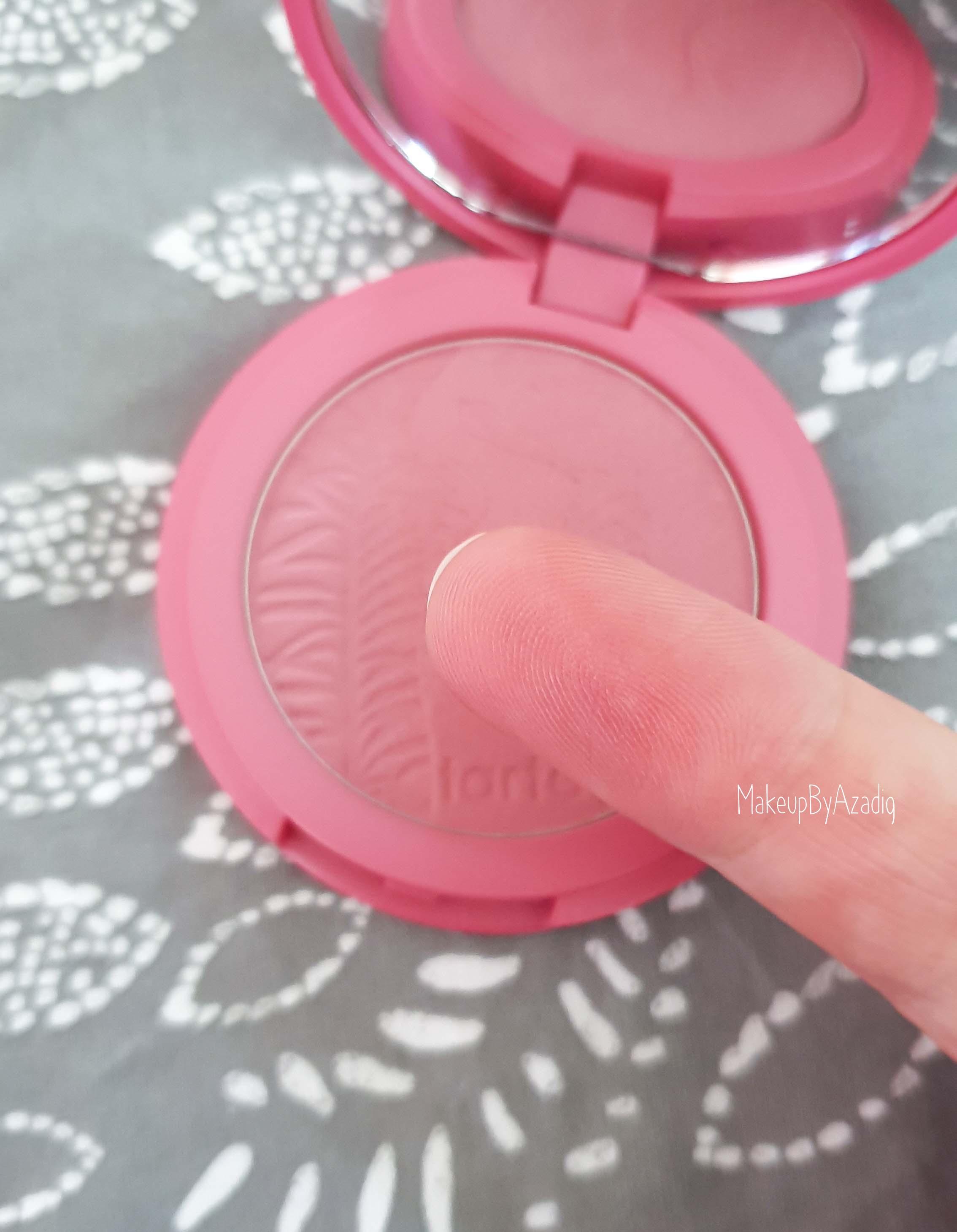 revue-blush-amazonian-clay-tarte-cosmetics-makeupbyazadig-sephora-france-blushing-bride-avis-prix-swatches