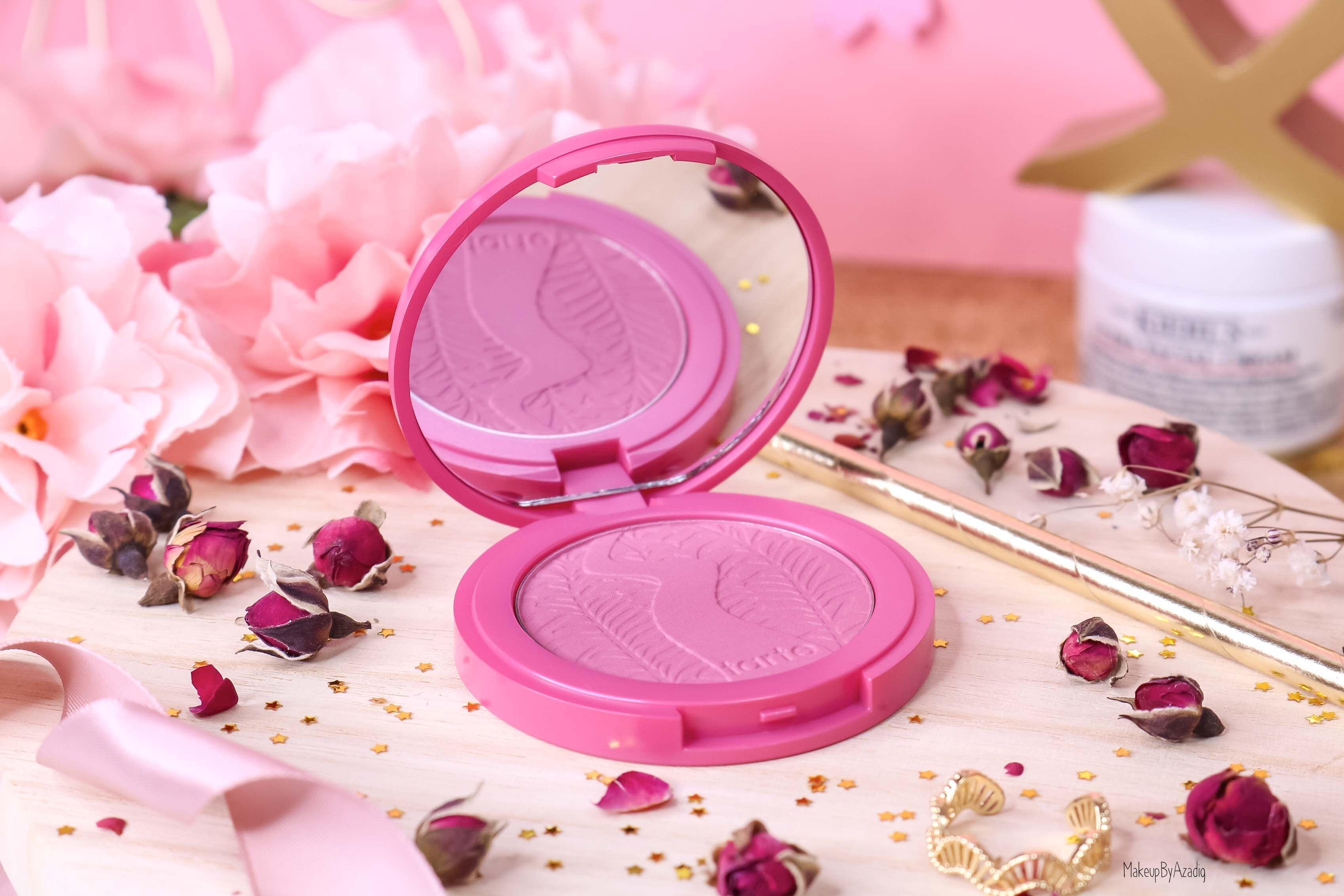 revue-blush-amazonian-clay-tarte-cosmetics-makeupbyazadig-sephora-france-blushing-bride-swatch-avis-prix-miniature