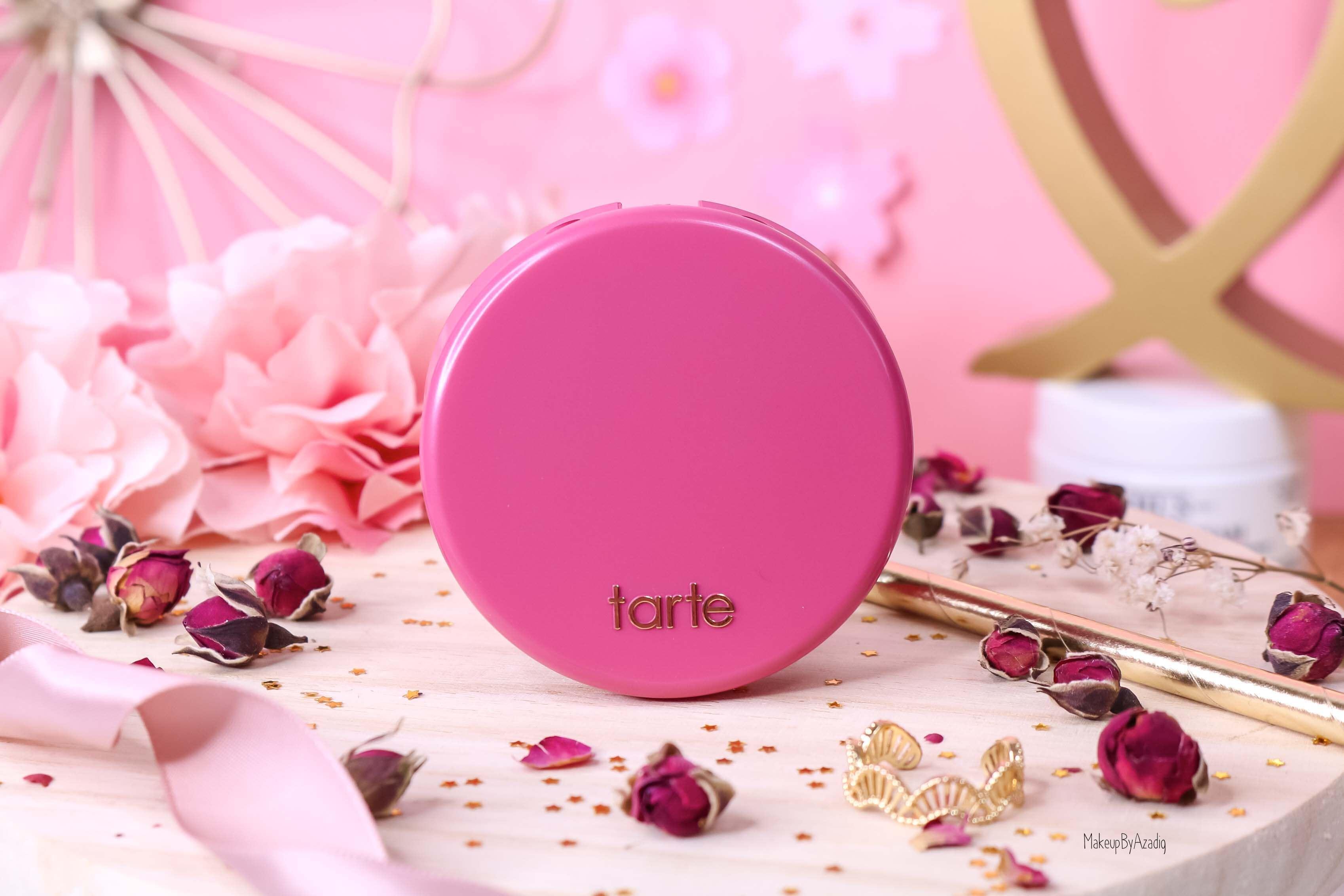 revue-blush-amazonian-clay-tarte-cosmetics-makeupbyazadig-sephora-france-blushing-bride-swatch-avis-prix-packaging