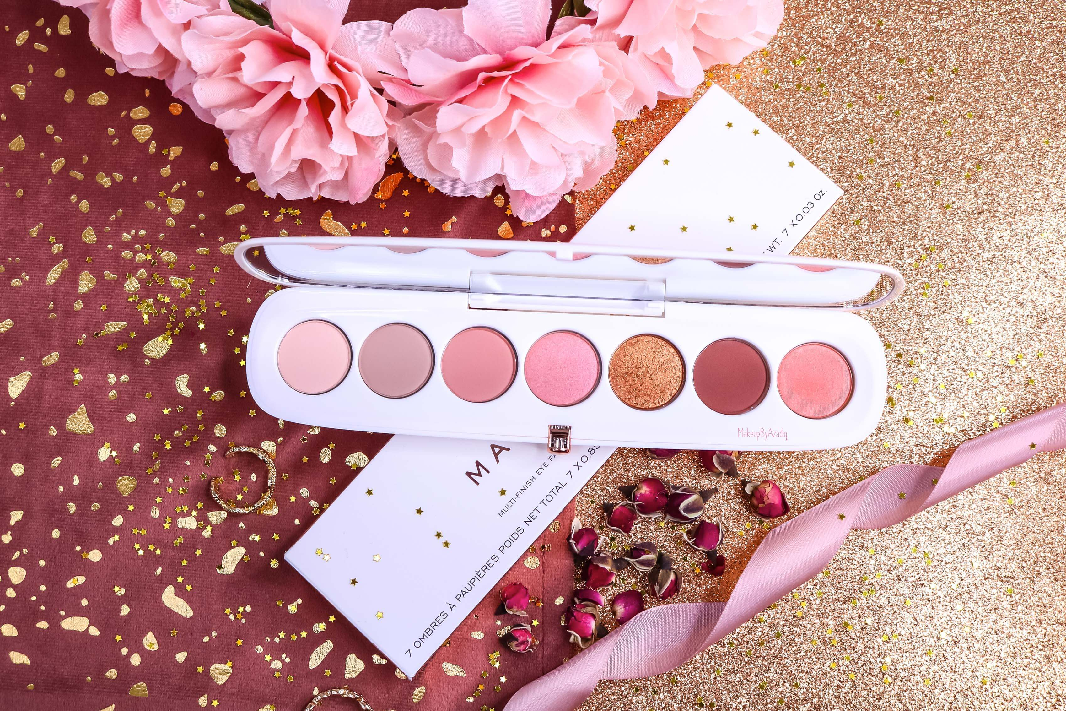 revue-palette-fards-paupieres-eye-conic-fantascene-marc-jacobs-gold-rose-sephora-france-avis-prix-swatch-tenue-makeupbyazadig-pink