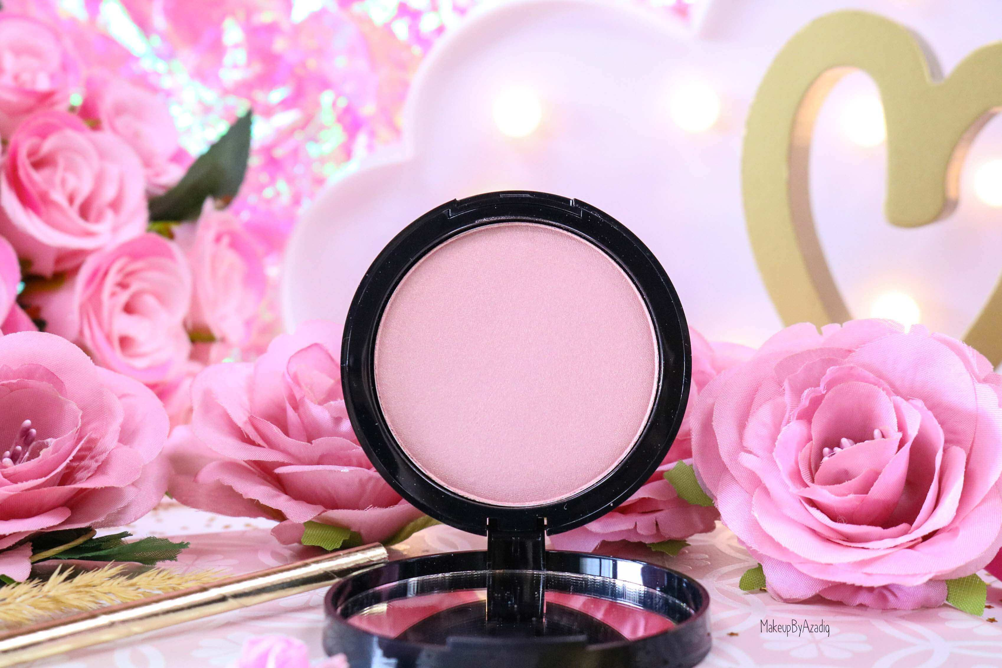 revue-highlighter-poudre-illuminatrice-golden-hour-dusk-sephora-collection-rosegold-avis-prix-swatch-makeupbyazadig-powder