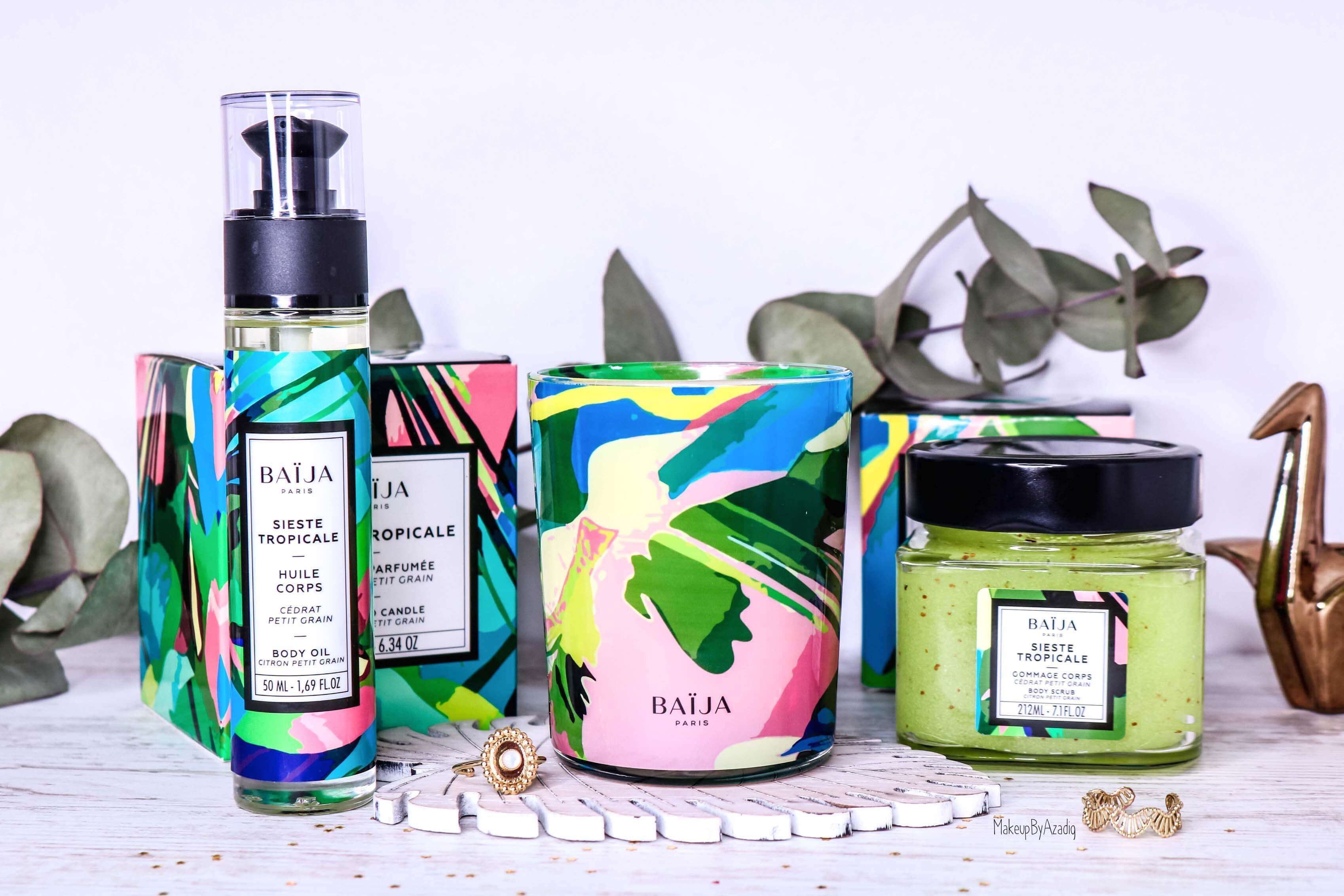 revue-collection-sieste-tropicale-baija--cedrat-paris-corps-bougie-gommage-soin-citron-makeupbyazadig-avis-prix-sephora-collection