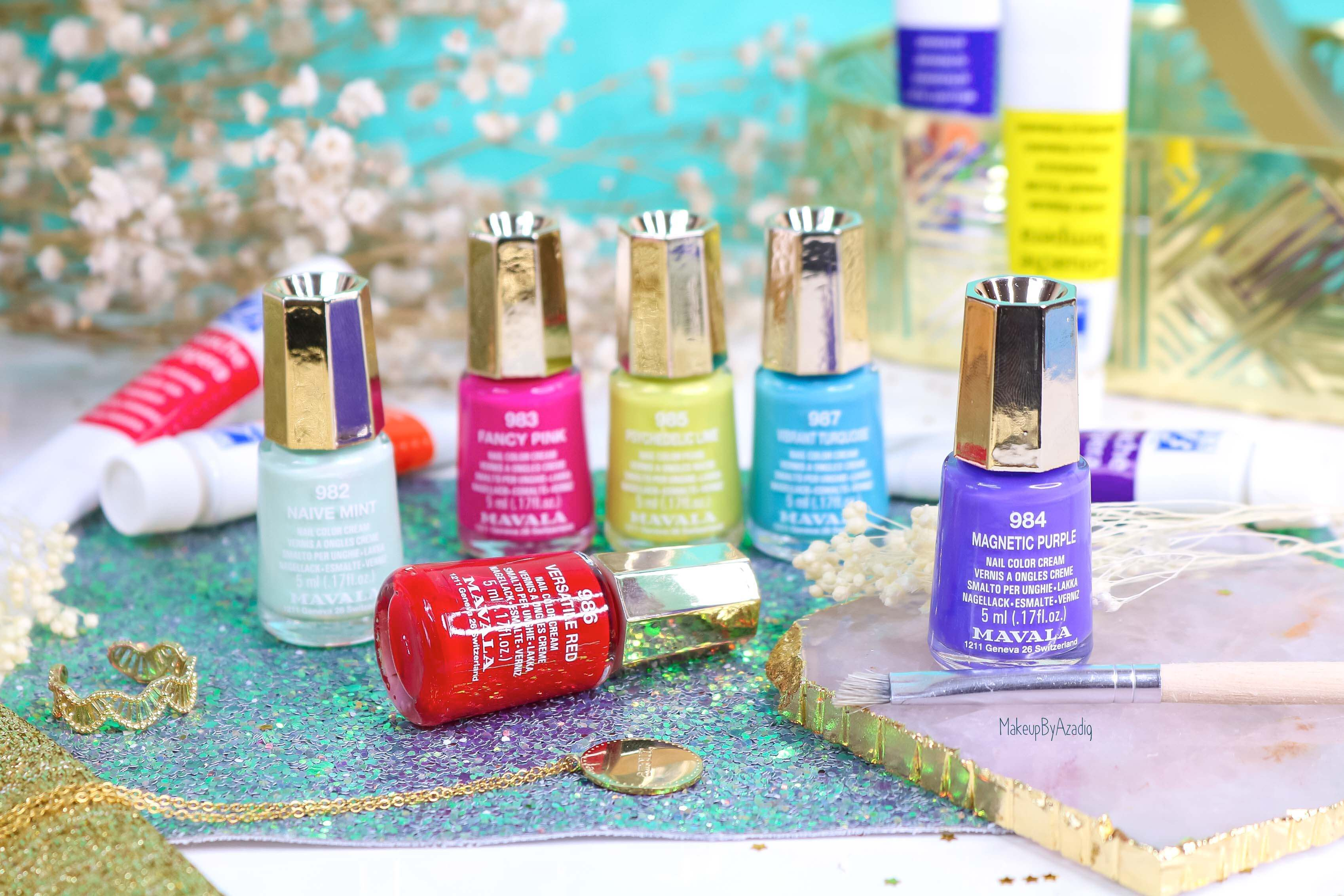 revue-collection-vernis-mavala-nails-dash-splash-ete-2019-bleu-orange-makeupbyazadig-swatch-avis-prix-collector