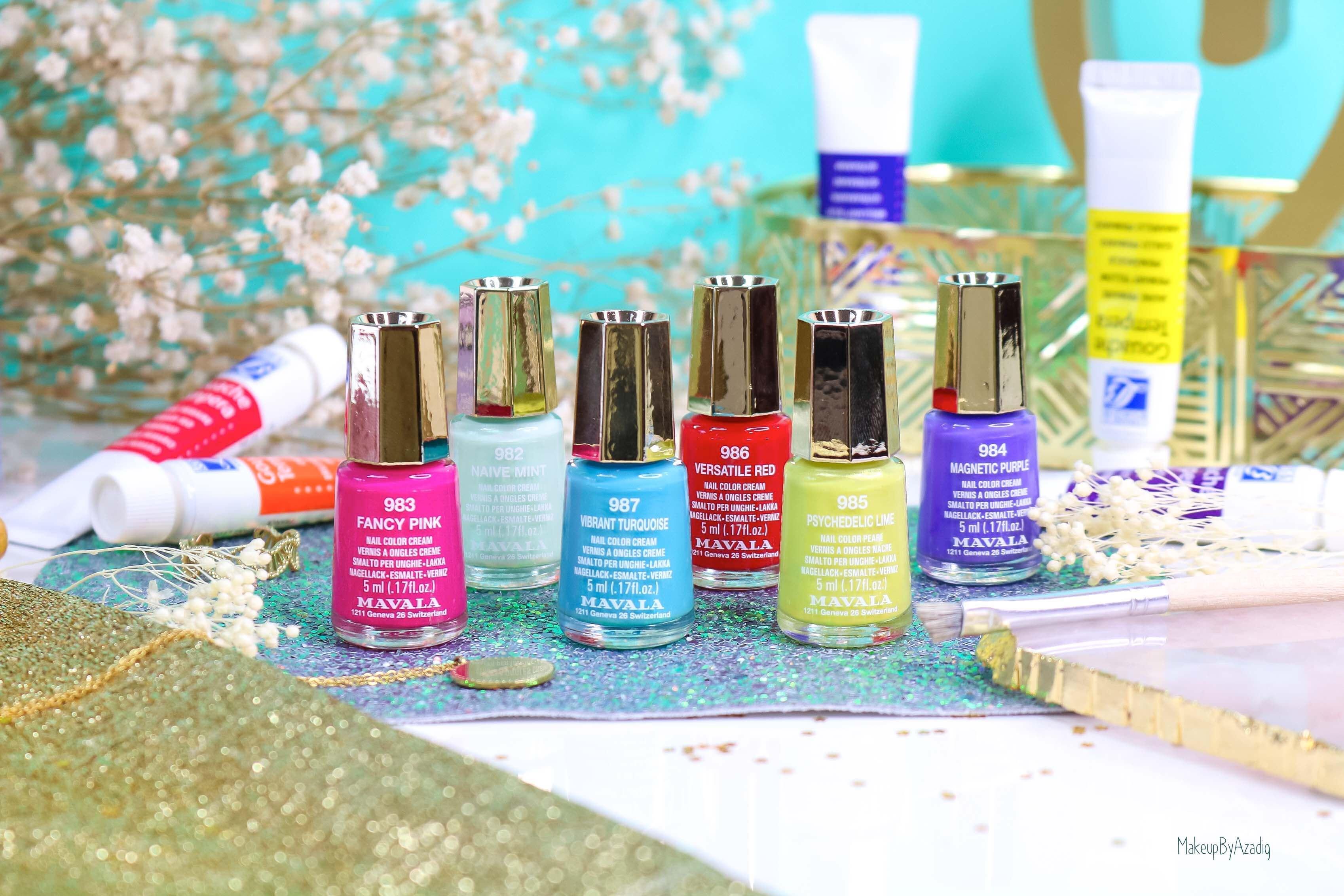 revue-collection-vernis-mavala-nails-dash-splash-ete-2019-bleu-orange-makeupbyazadig-swatch-avis-prix-colors