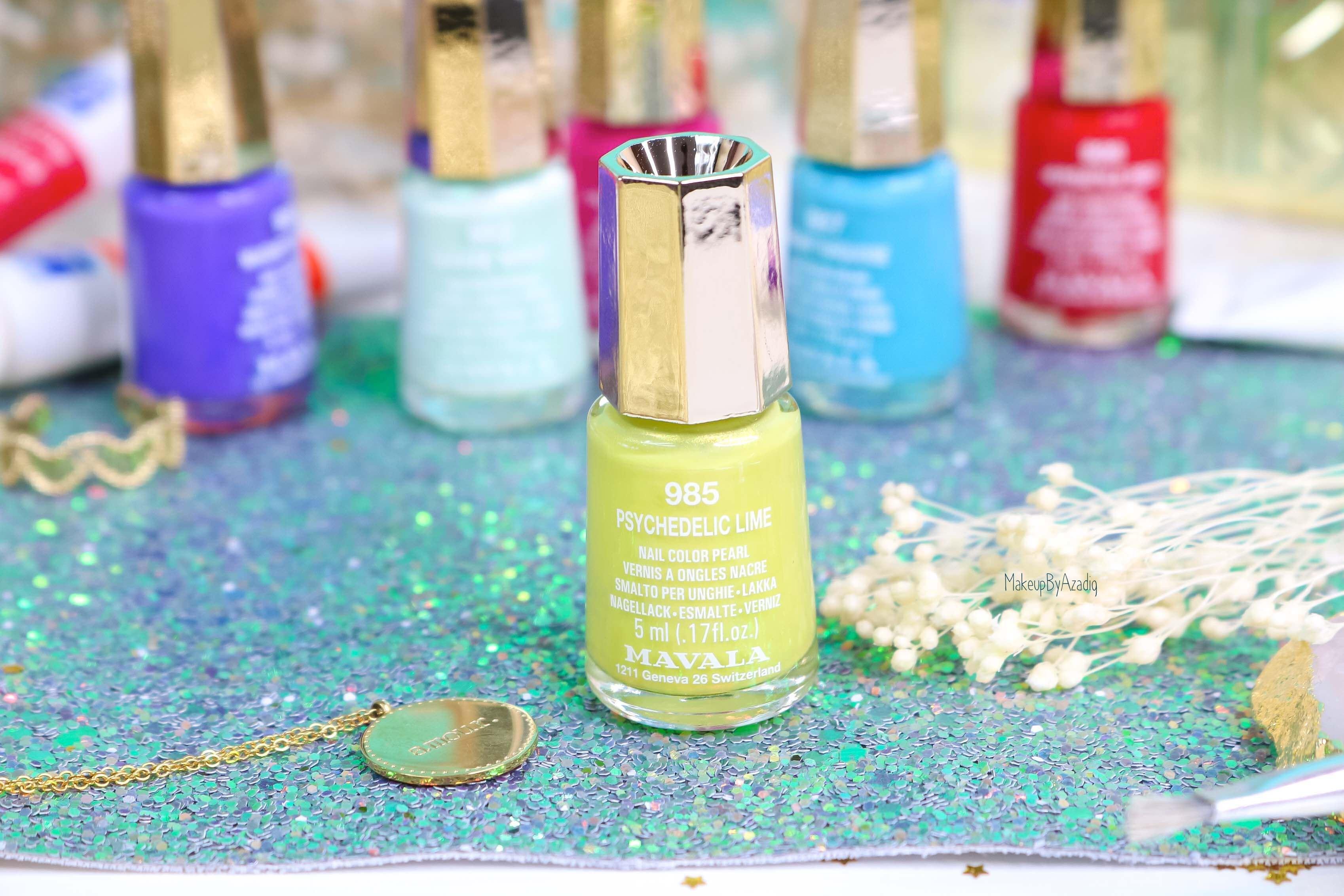 revue-collection-vernis-mavala-nails-dash-splash-ete-2019-bleu-orange-makeupbyazadig-swatch-avis-prix-lime