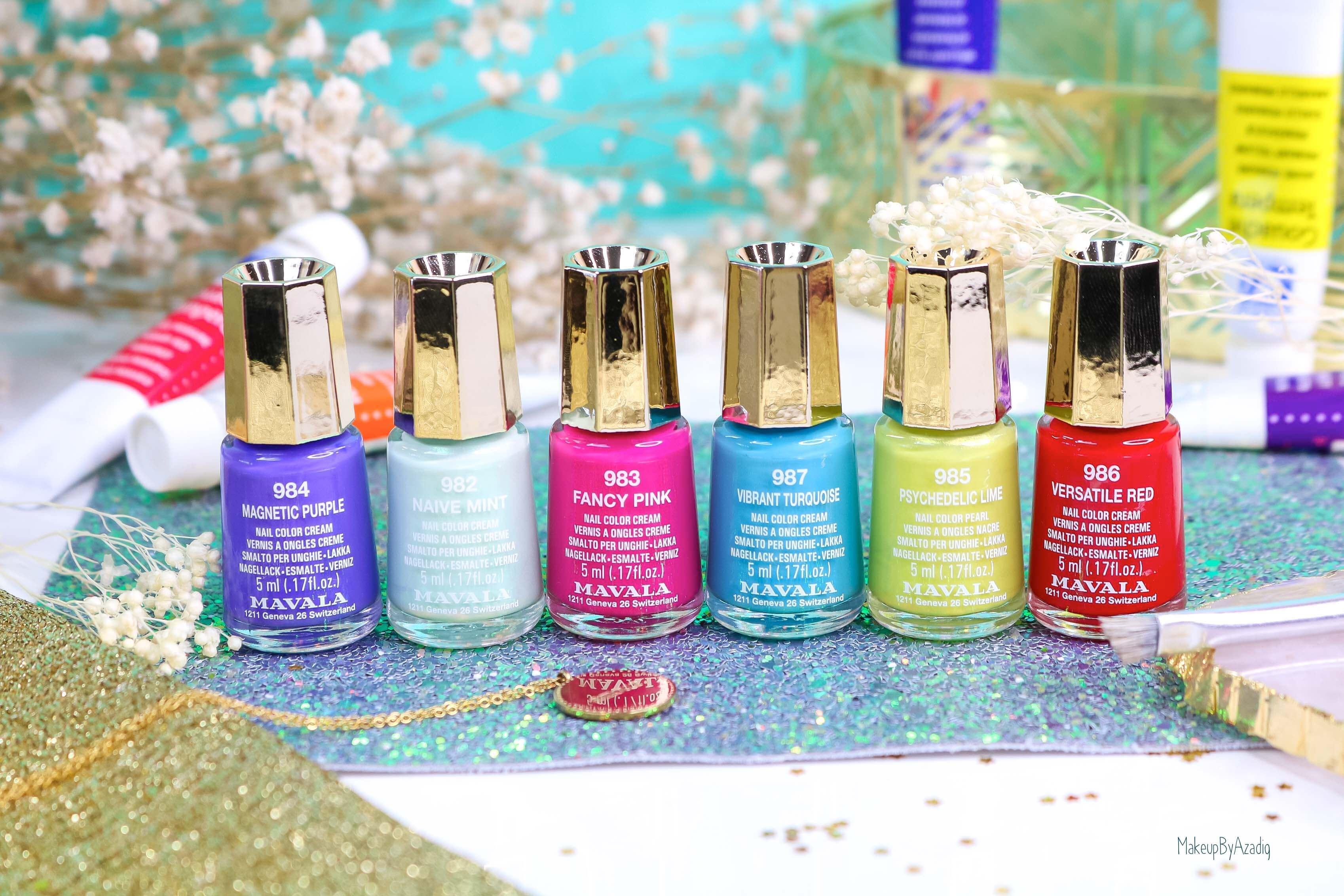 revue-collection-vernis-mavala-nails-dash-splash-ete-2019-bleu-orange-makeupbyazadig-swatch-avis-prix-meilleur