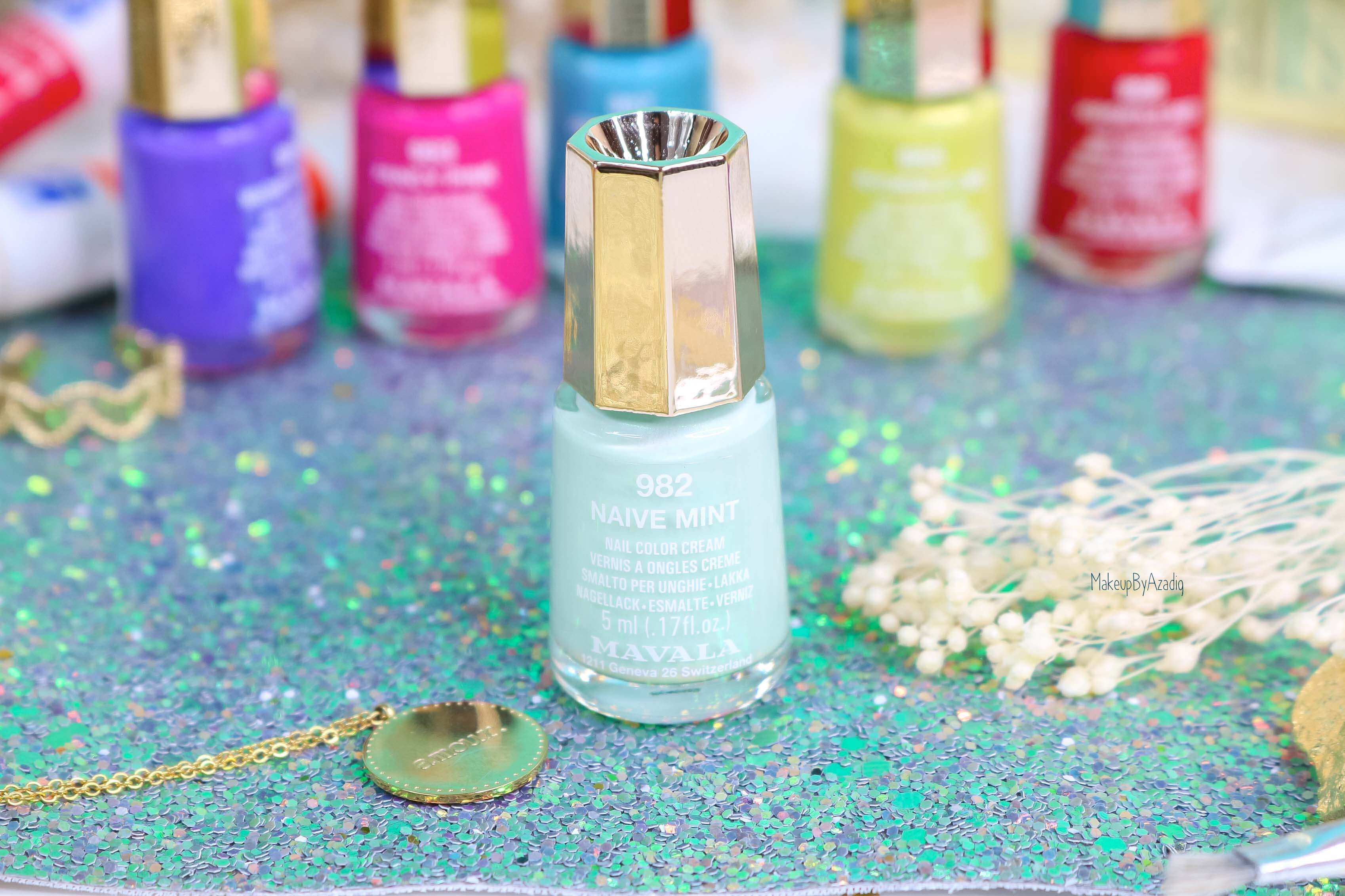 revue-collection-vernis-mavala-nails-dash-splash-ete-2019-bleu-orange-makeupbyazadig-swatch-avis-prix-mint