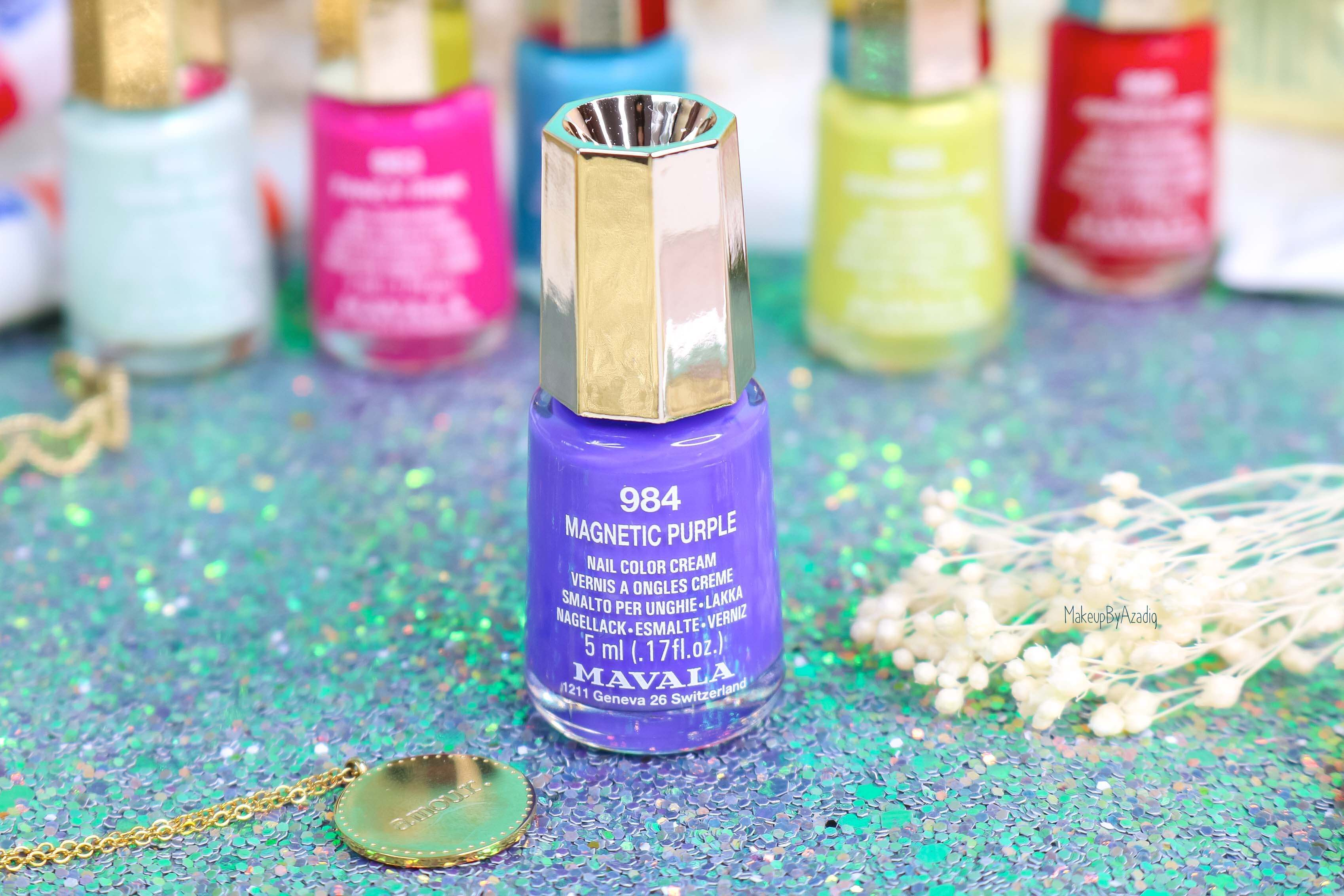 revue-collection-vernis-mavala-nails-dash-splash-ete-2019-bleu-orange-makeupbyazadig-swatch-avis-prix-purple