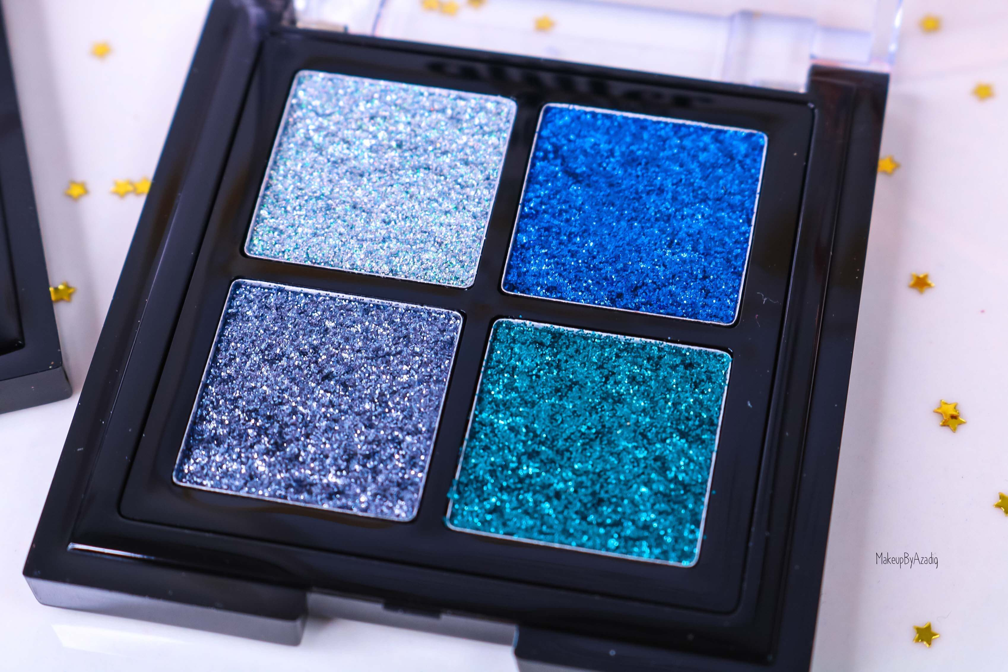 revue-palette-glitter-goals-nyx-professional-makeup-festival-coachella-avis-prix-paillette-makeupbyazadig-galactica-glacier-blue