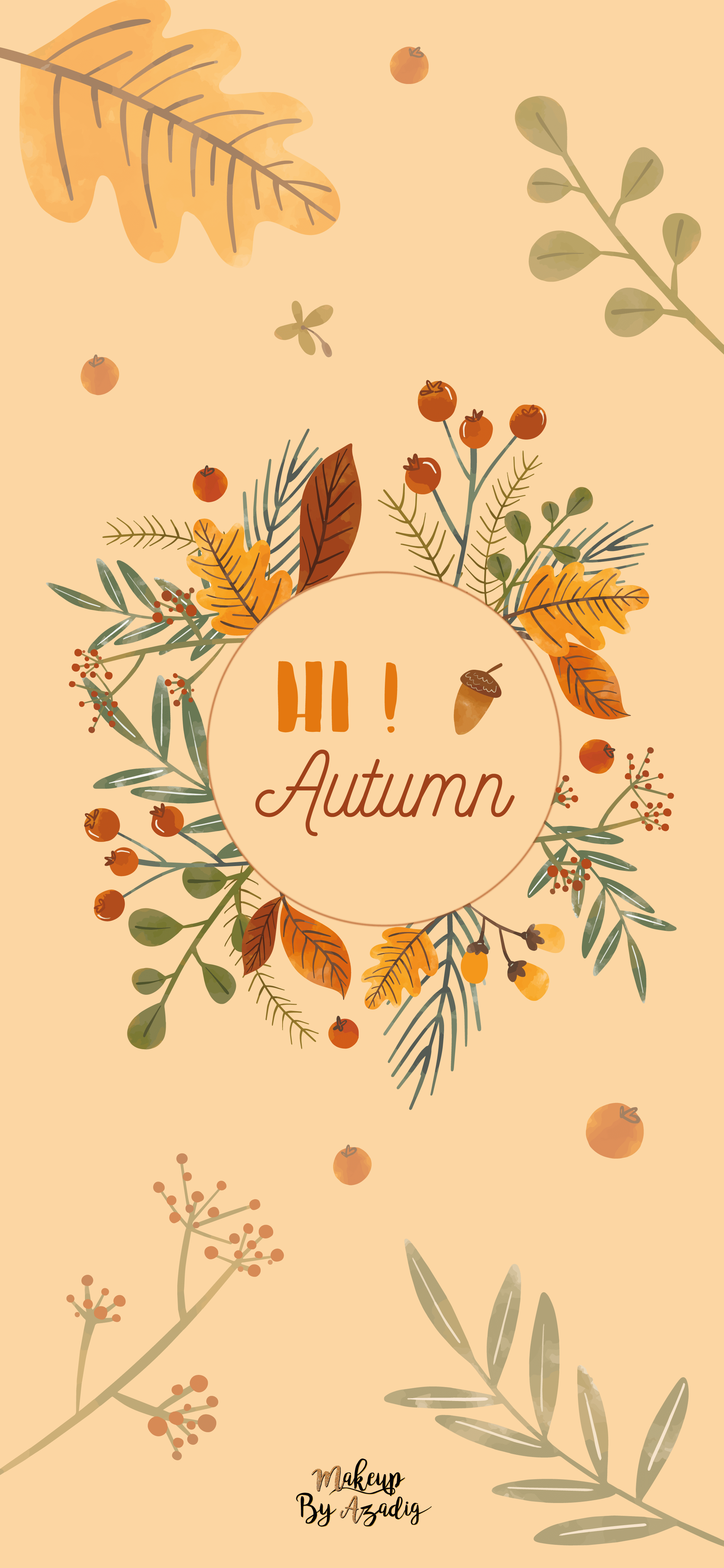 fond-decran-wallpaper-automne-leaves-autumn-girly-iphone-X-makeupbyazadig-tendance