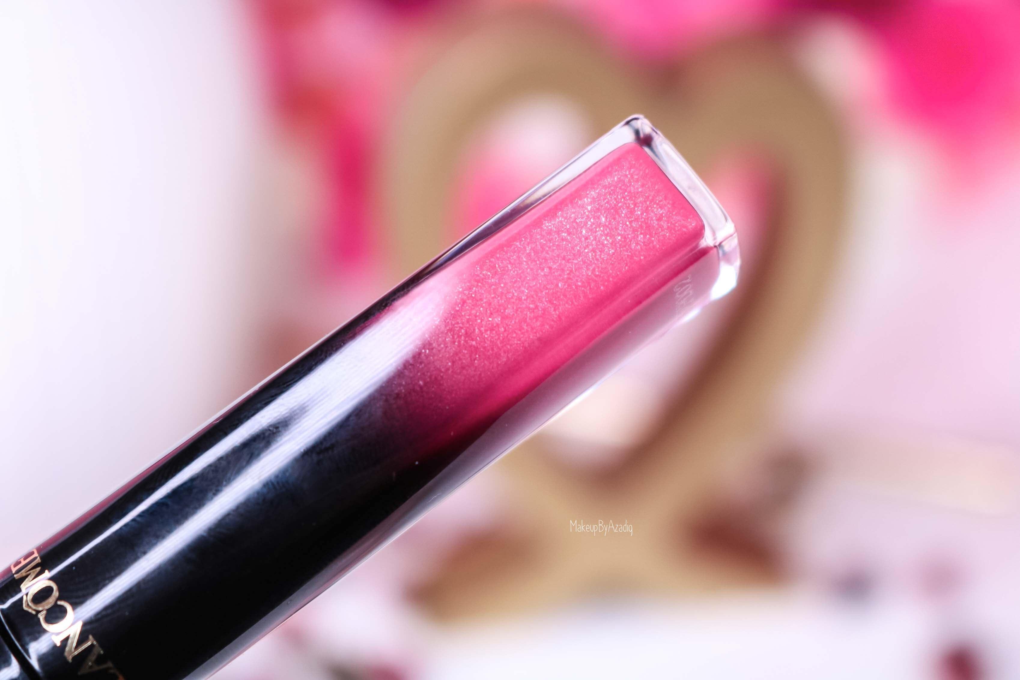 revue-lacque-a-levres-absolu-lacquer-lancome-shine-manifesto-323-sephora-avis-prix-tenue-makeupbyazadig-swatch-couleur