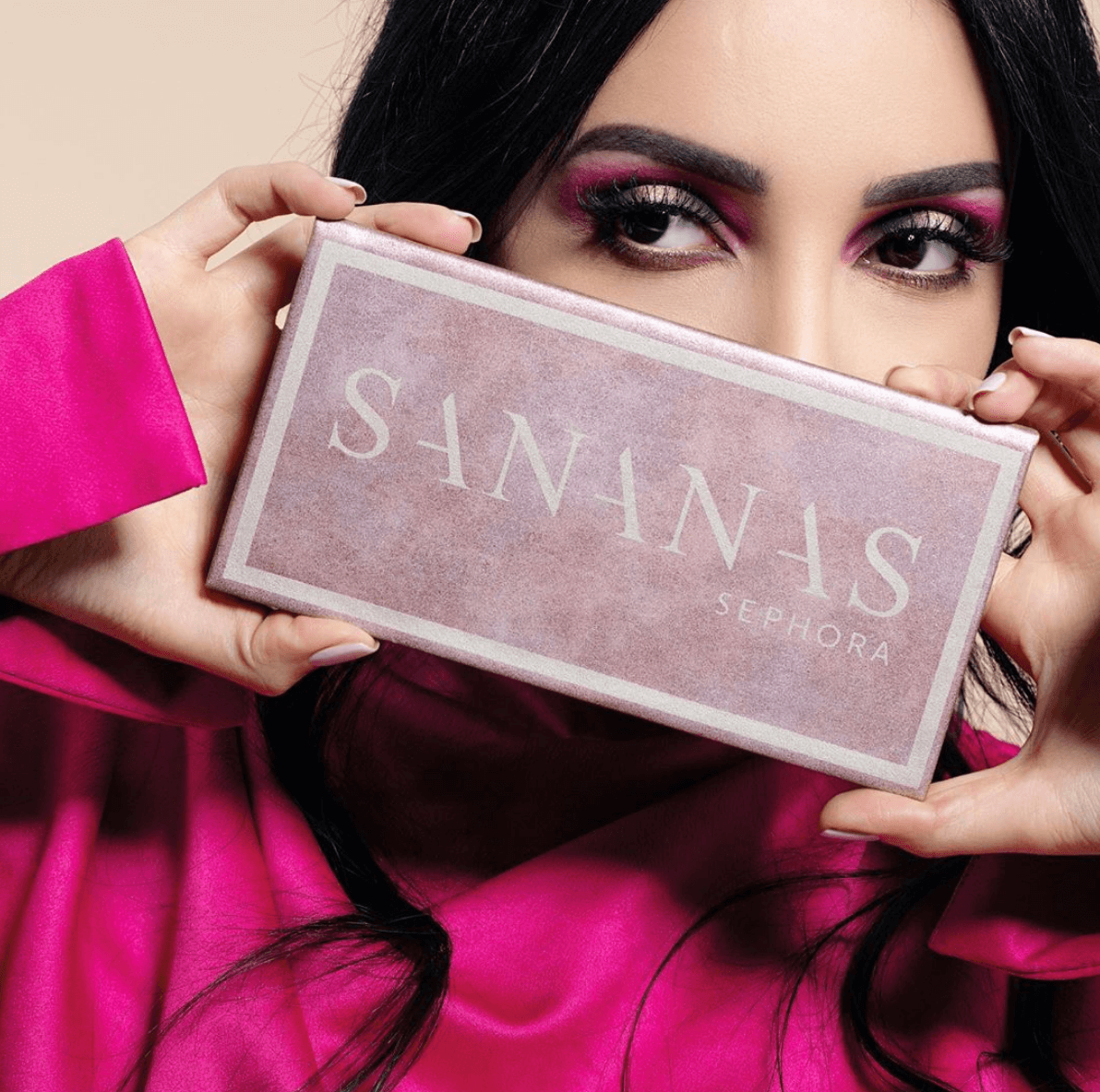 revue-palette-collaboration-sananas-sephora-france-teintes-fards-paupieres-couleurs-avis-prix-swatch-makeupbyazadig-date-sortie-beautynews-makeup