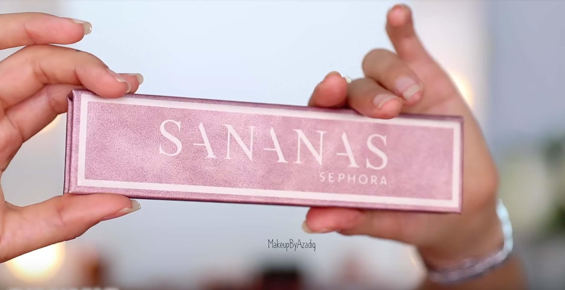 Capture d'écran provenant de la vidéo Youtube de Sananas