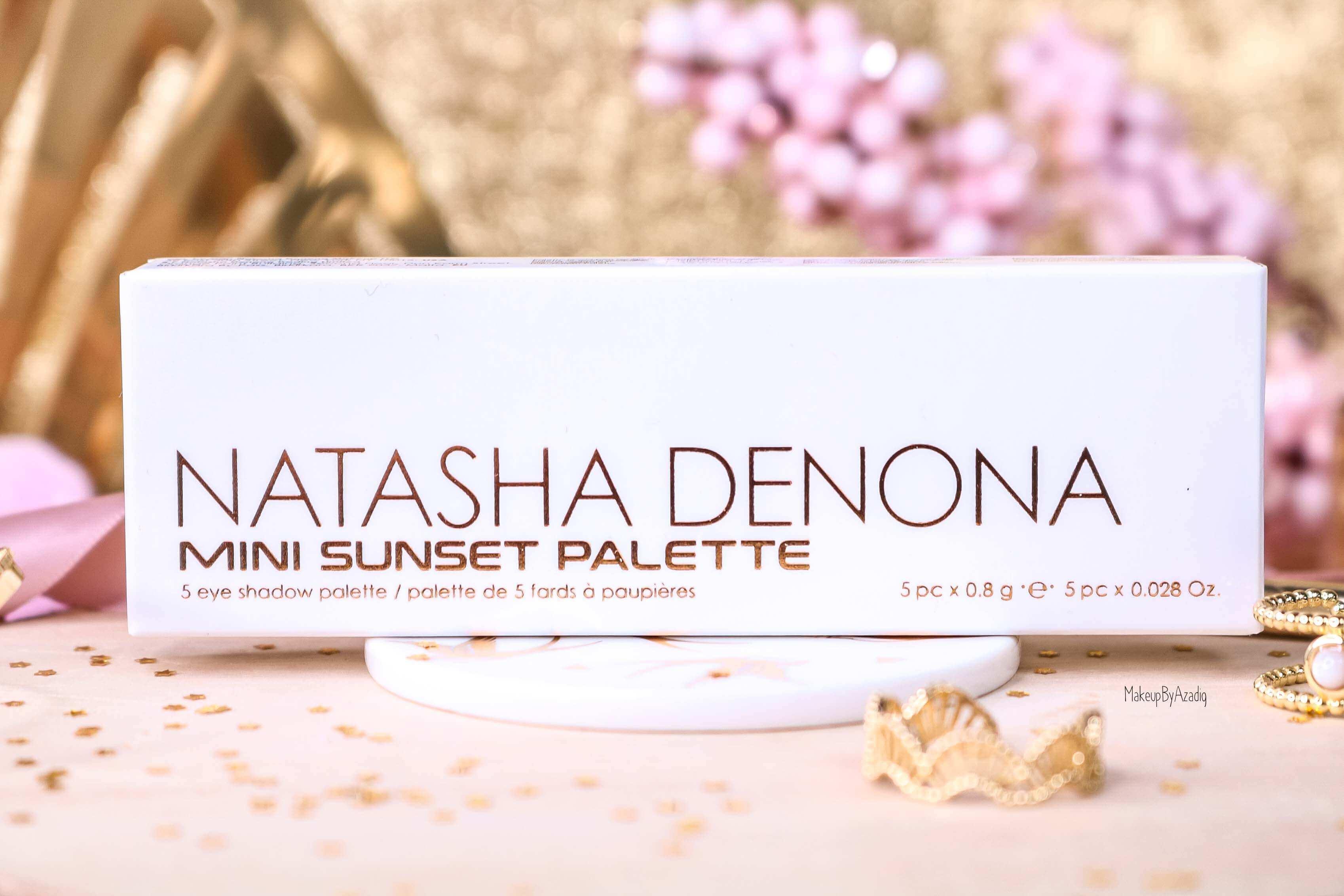 revue-palette-mini-sunset-natasha-denona-sephora-france-avis-prix-swatch-gold-champagne-burgundy-makeupbyazadig-eyeshadow-packaging