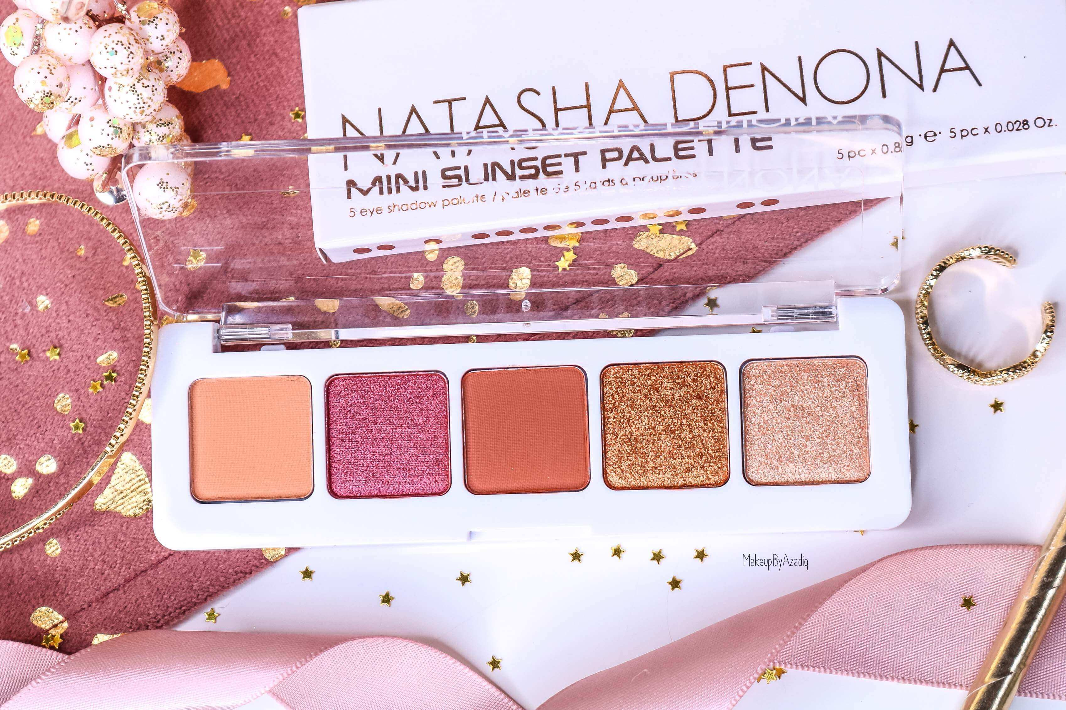 revue-palette-mini-sunset-natasha-denona-sephora-france-avis-prix-swatch-gold-champagne-burgundy-makeupbyazadig-eyeshadow-teintes