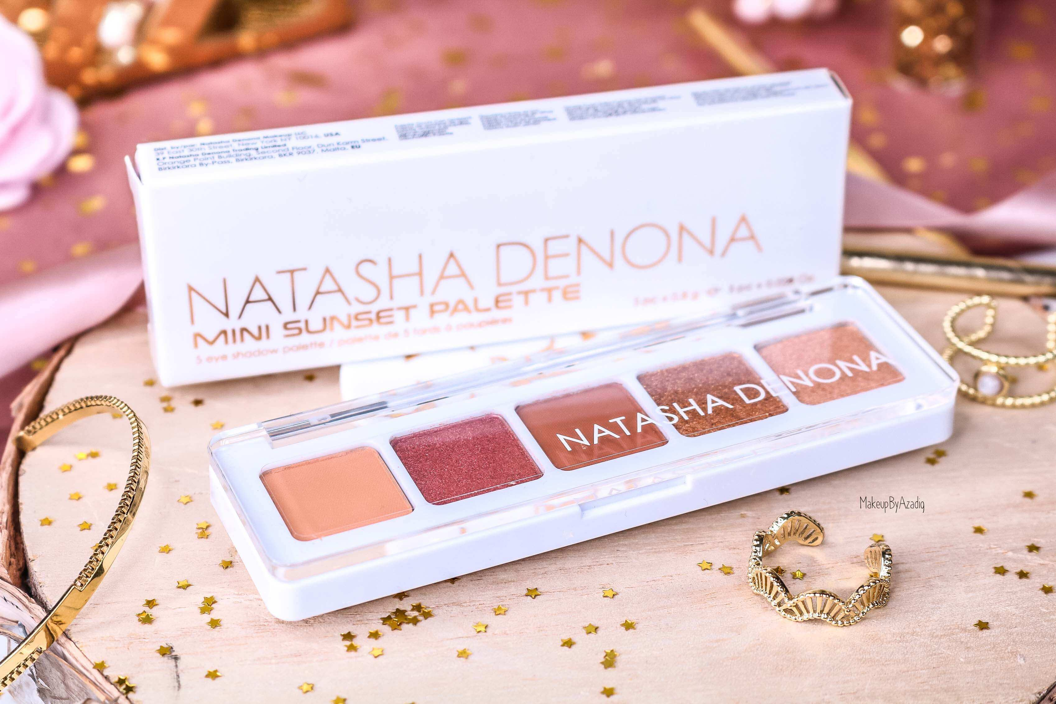 revue-palette-mini-sunset-natasha-denona-sephora-france-avis-prix-swatch-gold-champagne-burgundy-makeupbyazadig-eyeshadow-white