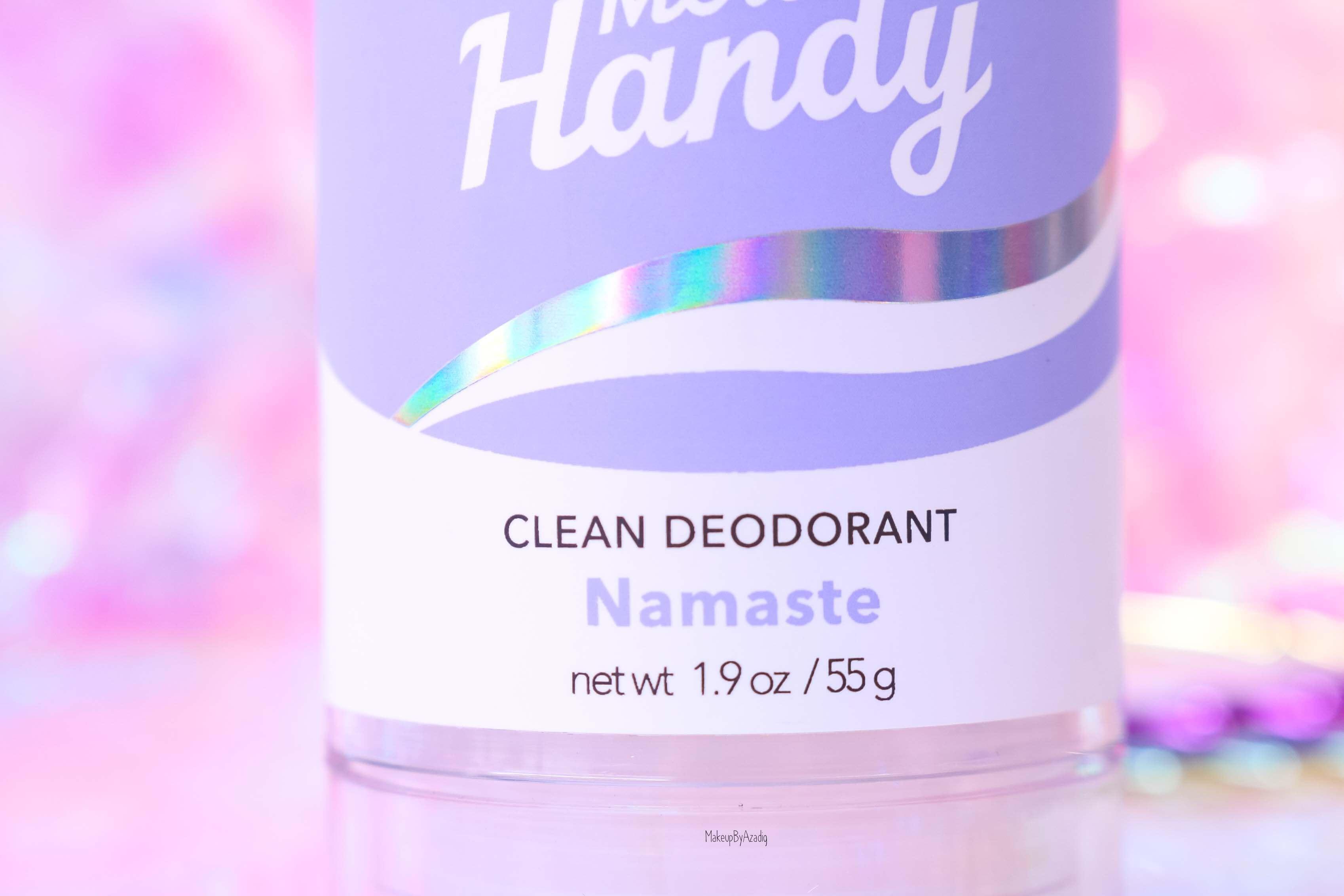 revue-clean-deodorant-merci-handy-namaste-flower-power-sans-aluminium-cruelty-free-avis-prix-makeupbyazadig-sephora-efficacite-quantite