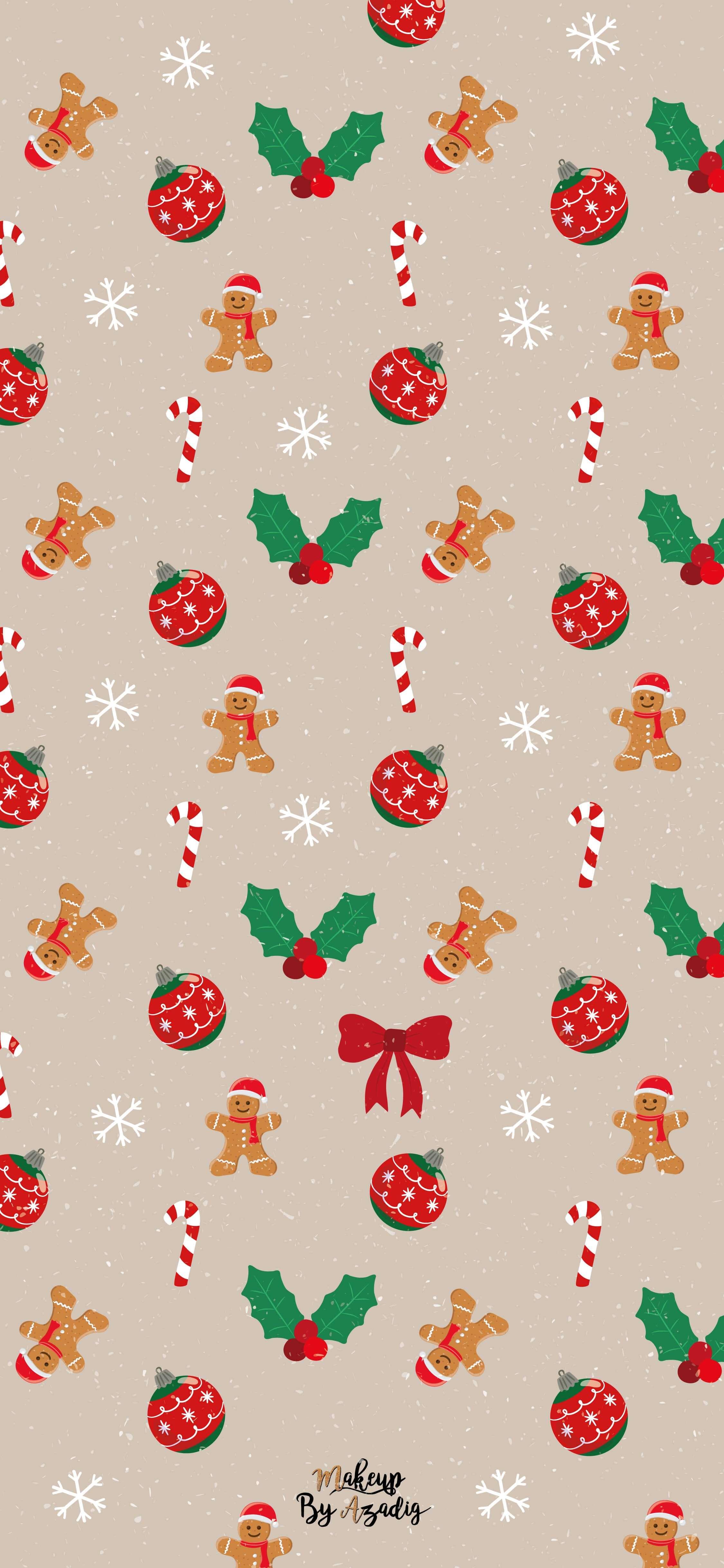 fond-decran-wallpaper-christmas-noel-elements-gingerbread-houx-decoration-december-iphone-samsung-huawai-makeupbyazadig-tendance
