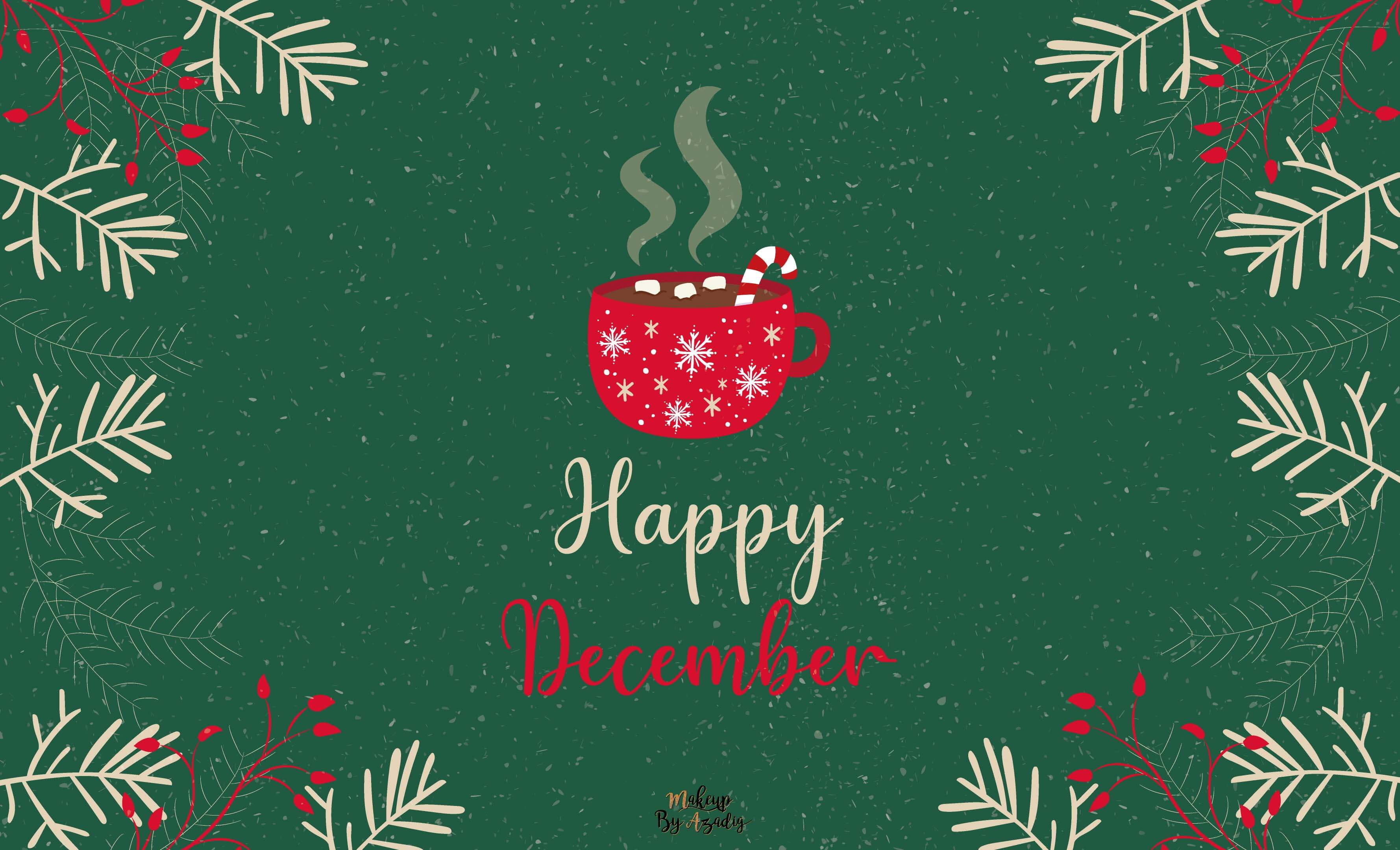 22 Fond D Ecran Happy December Wallpaper Makeupbyazadig