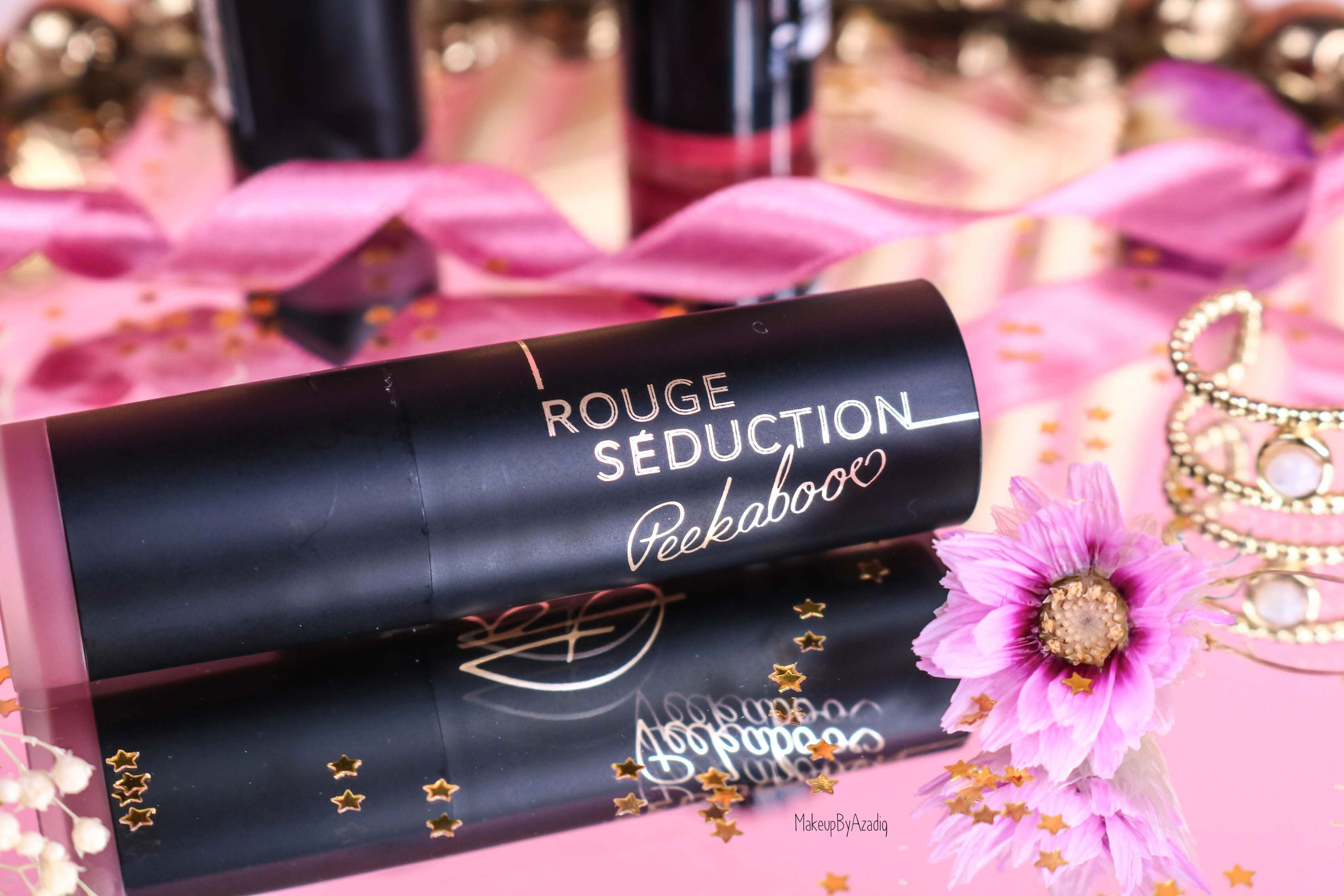 revue-collection-capsule-collaboration-youtubeuse-blogueuse-peekabooo-beauty-success-rouge-levres-babybooo-makeupbyazadig-avis-prix-swatch-signature
