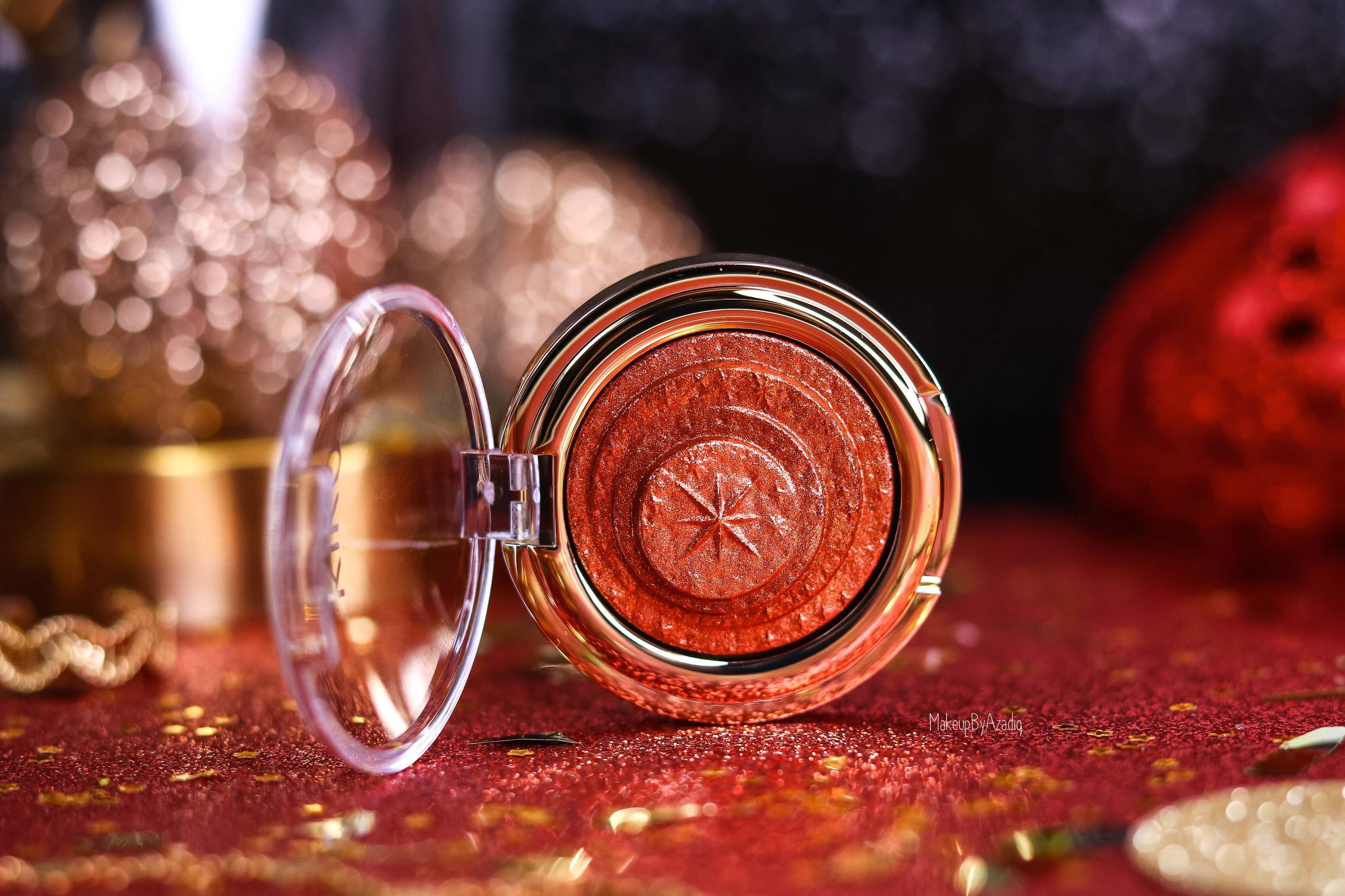 revue-collection-noel-kiko-milano-troyes-magical-holiday-rouge-levres-fard-paupieres-makeupbyazadig-avis-prix-swatch-paillete-2019-cuivre